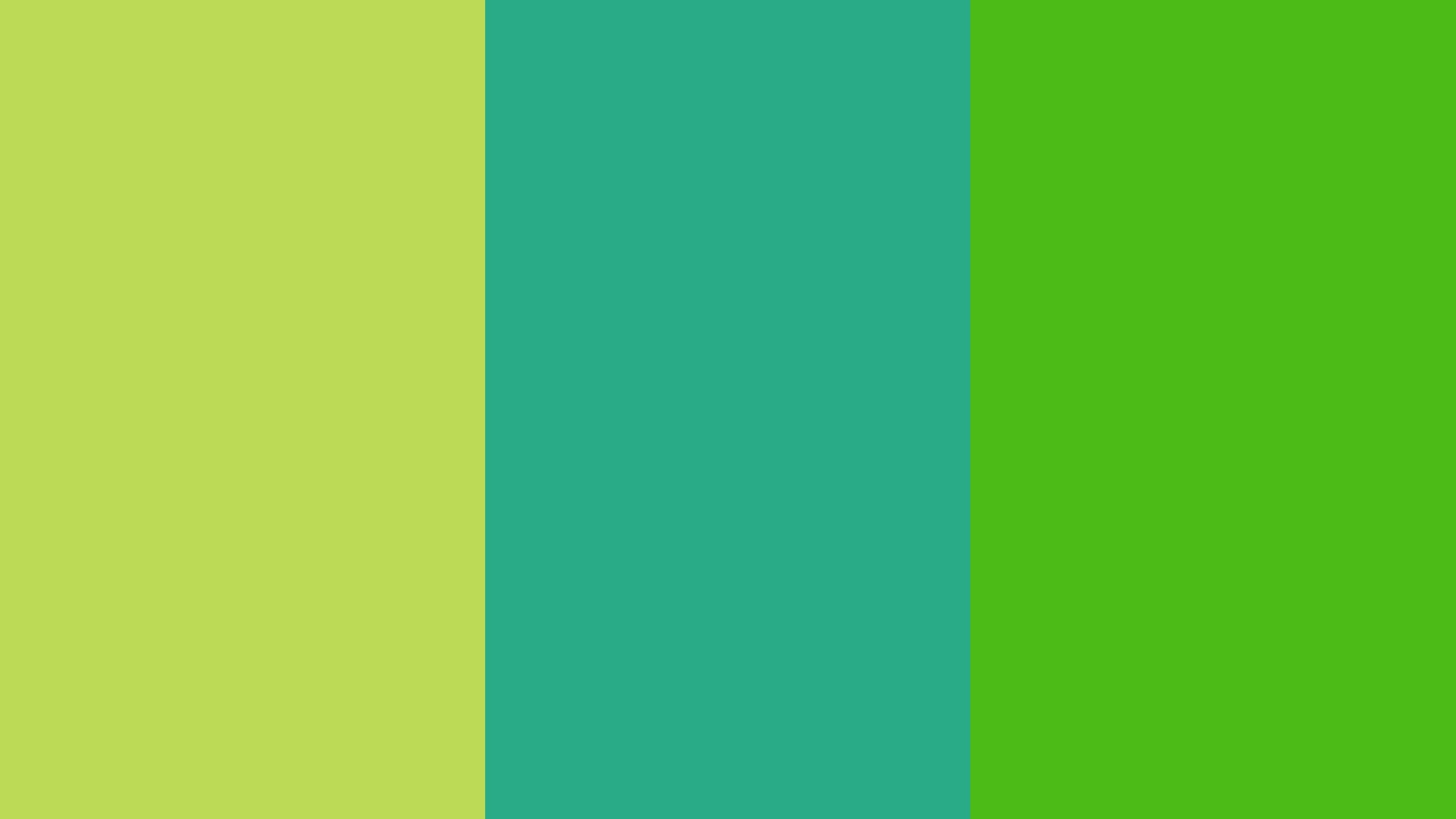 Res: 2560x1440,  resolution June Bud Jungle Green and Kelly Green solid