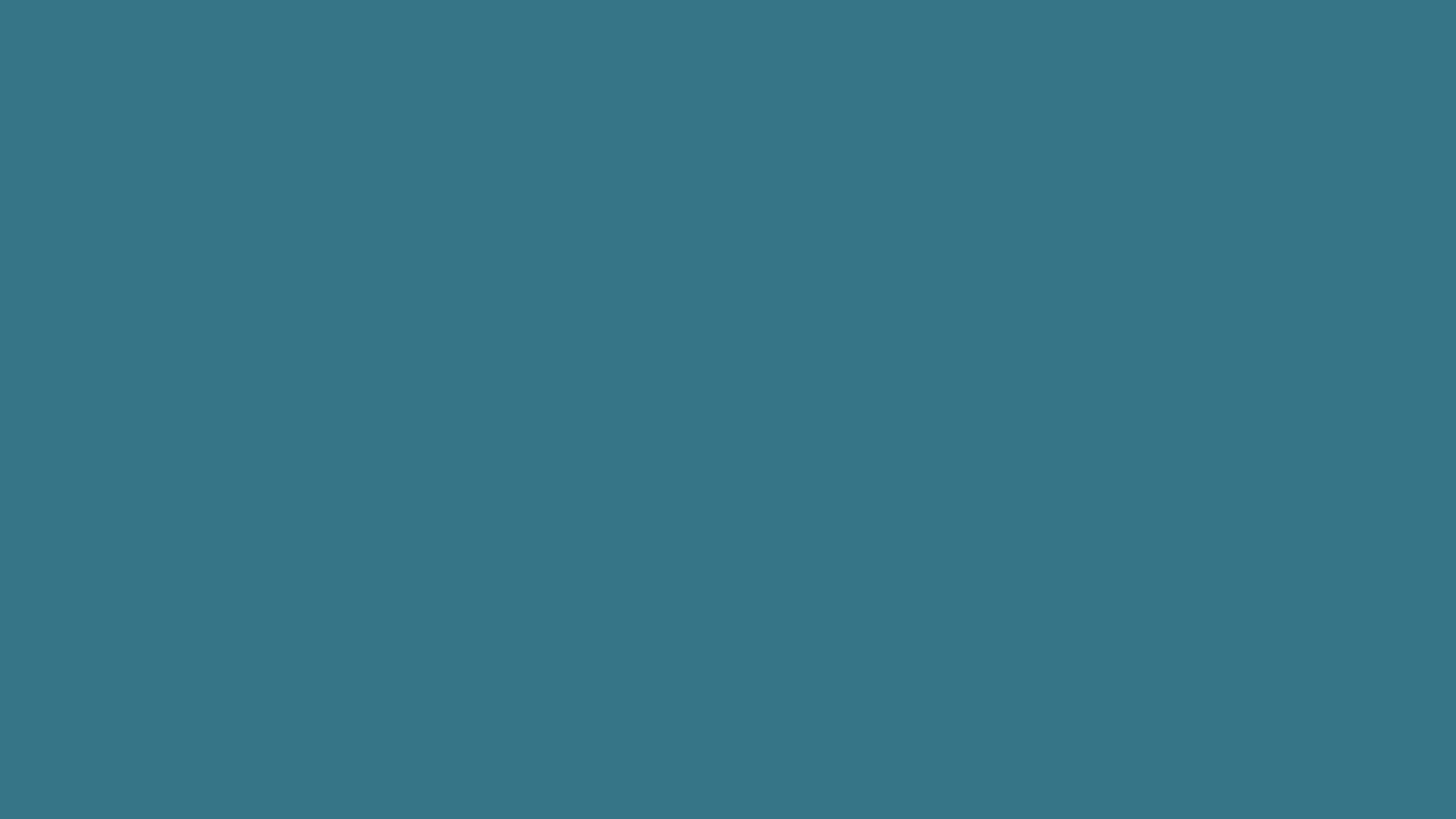 Res: 2560x1440, Solid Teal Blue Wallpaper 47198