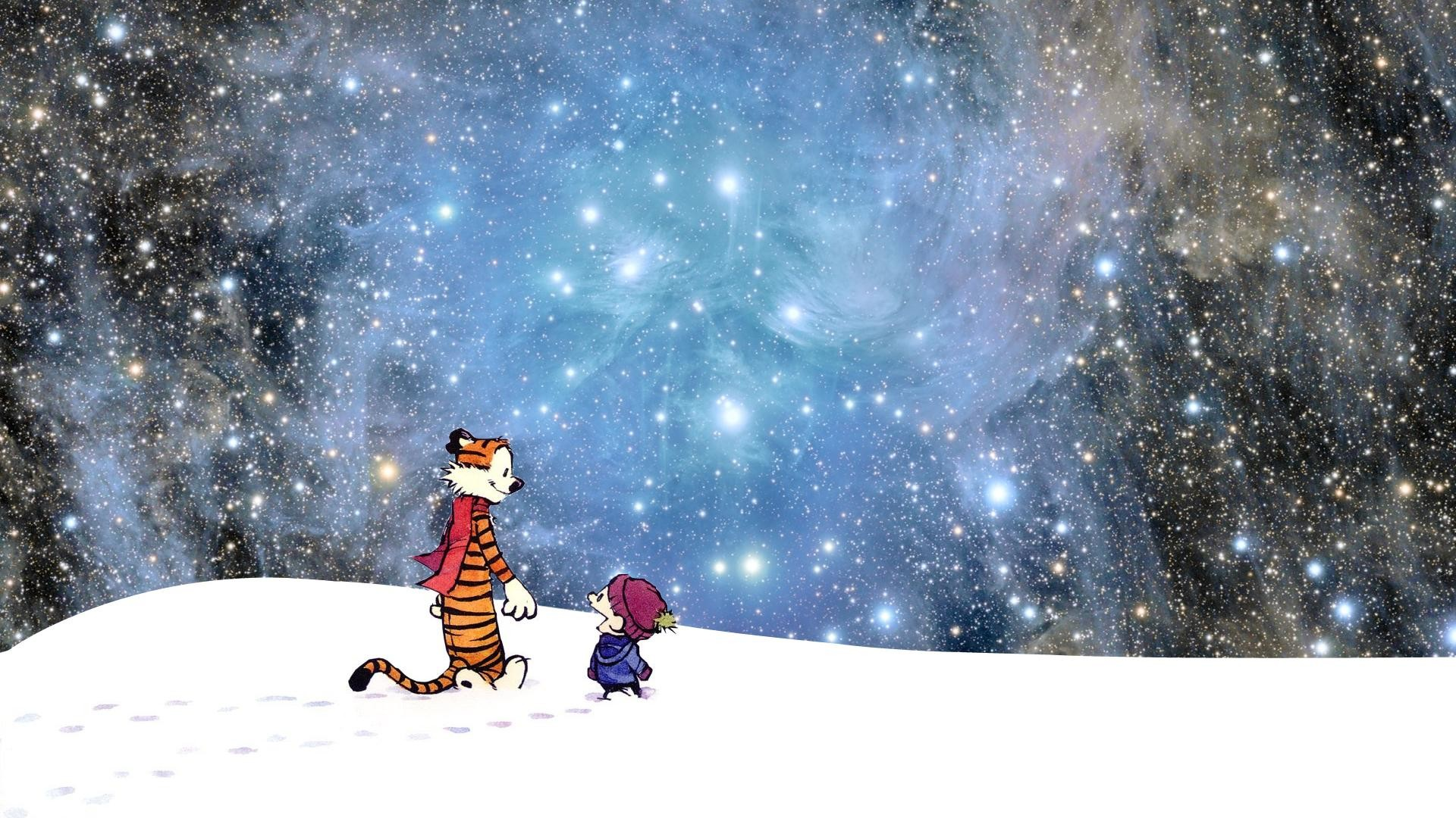 Res: 1920x1080, Cute Calvin and Hobbes Wallpapers Desktop Pictures.