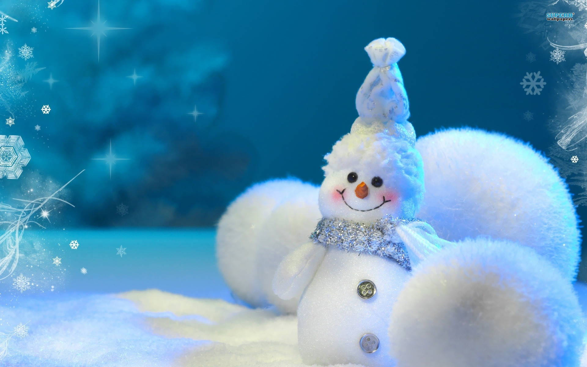 Res: 1920x1200, Snowman Wallpapers 3