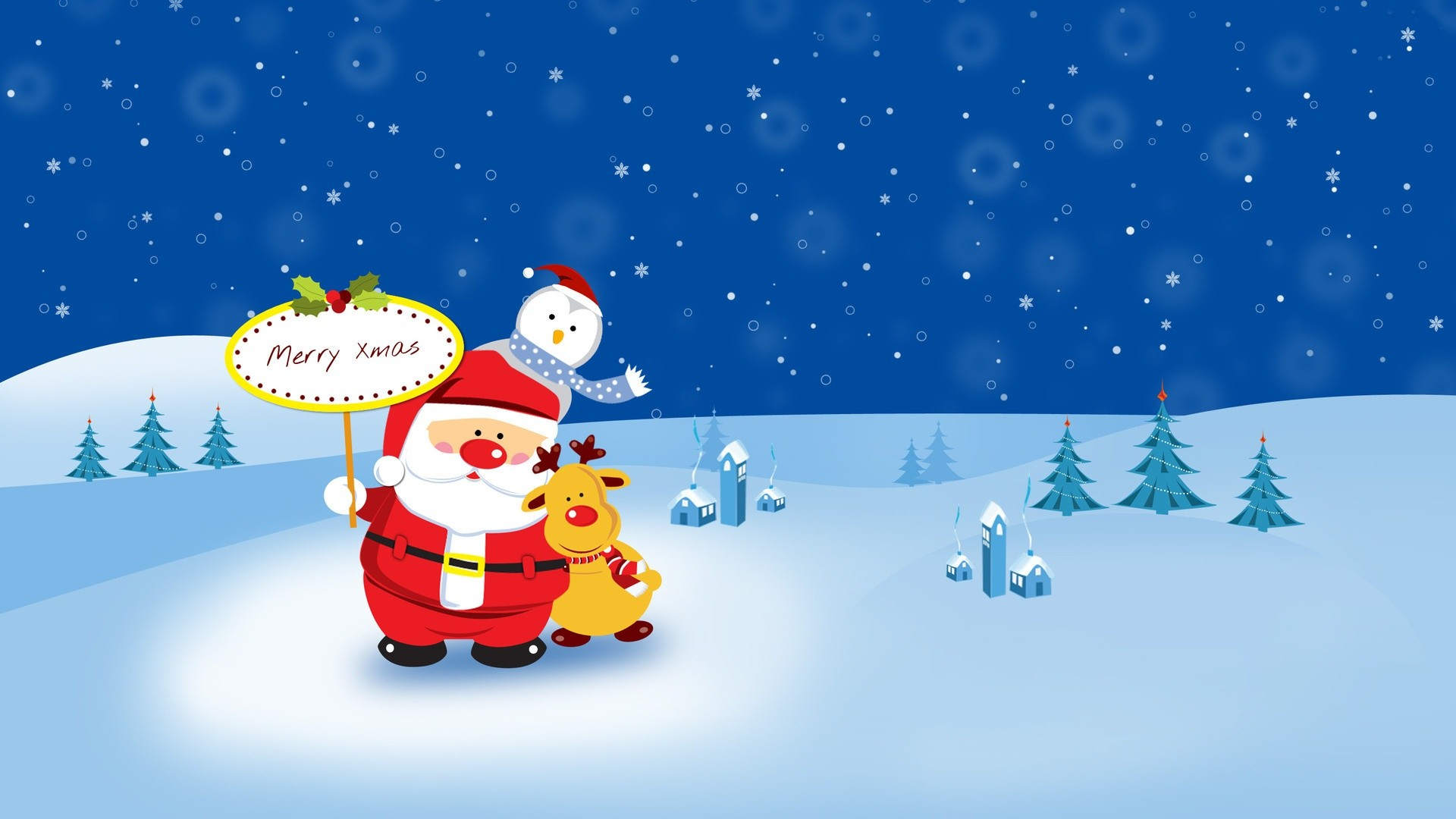 Res: 1920x1080, ... cute-christmas-wallpaper ...