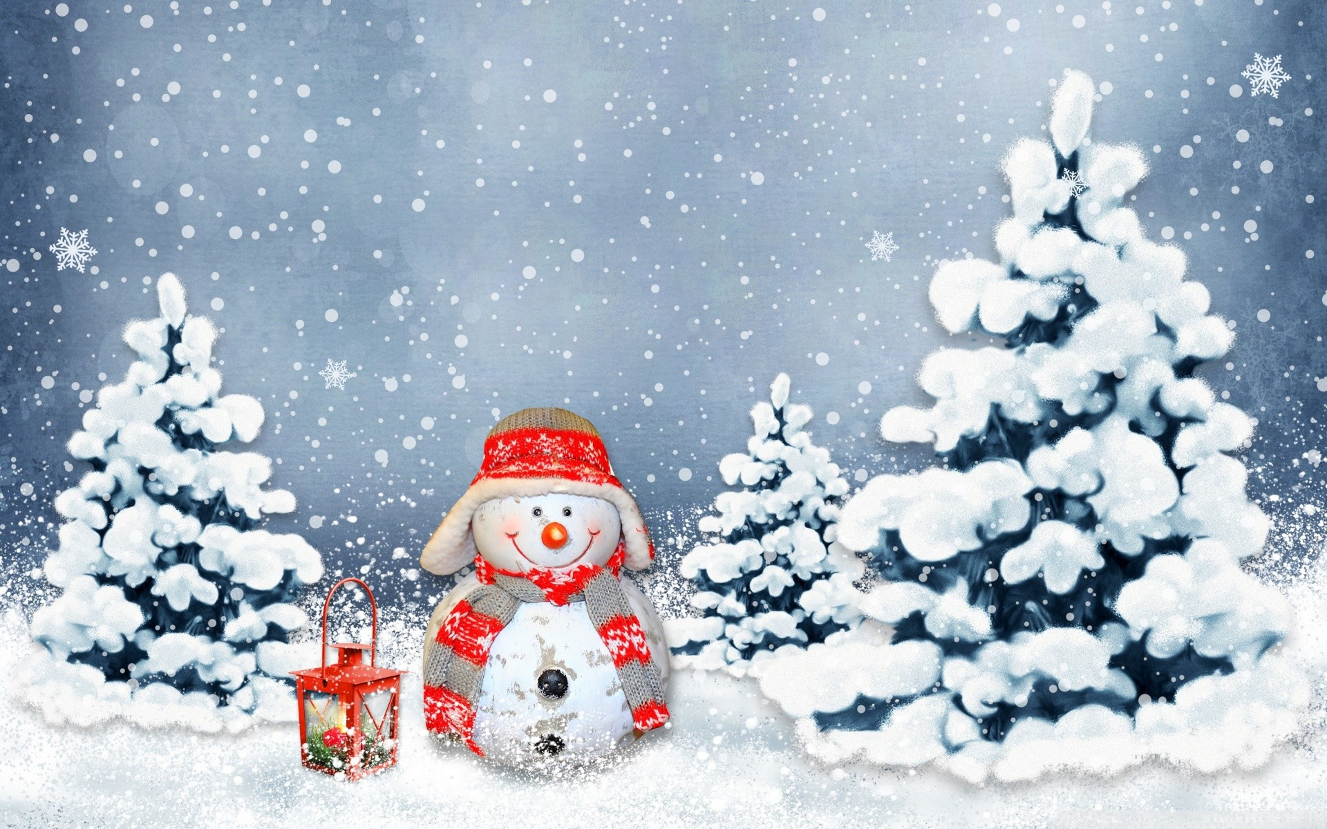 Res: 1920x1200, funny_snowman-wallpaper-