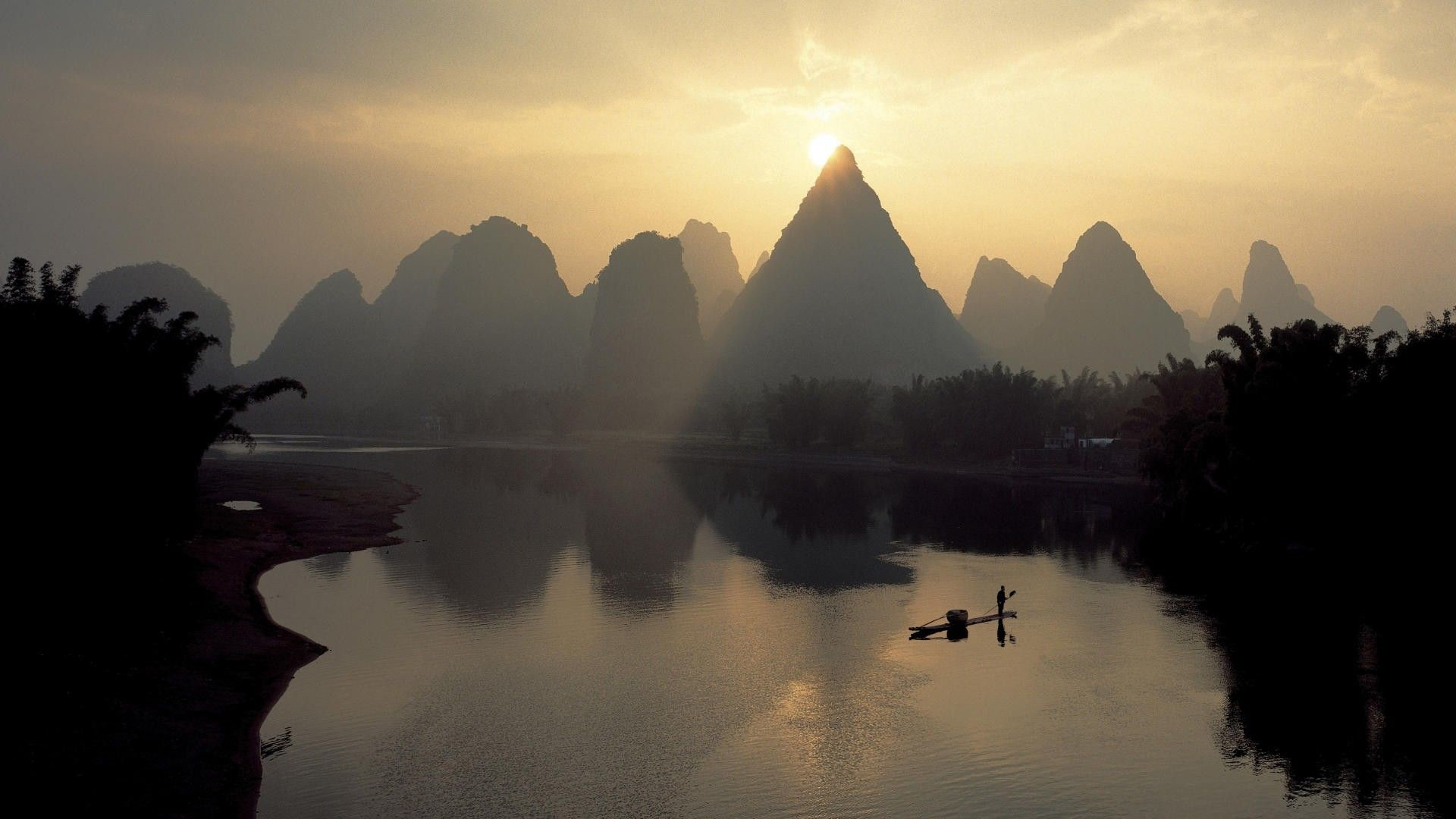Res: 1920x1080, High Quality Chinese Landscape Wallpaper » Full HD Images