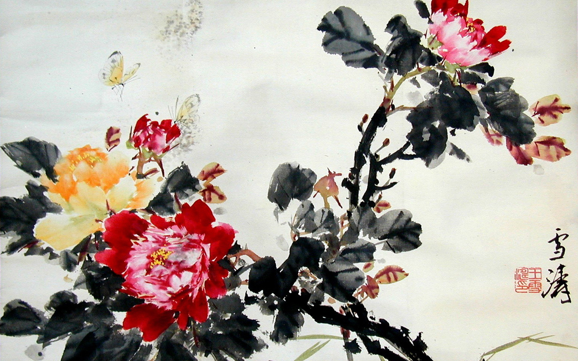 Res: 1920x1200, Images of Chinese Artwork |