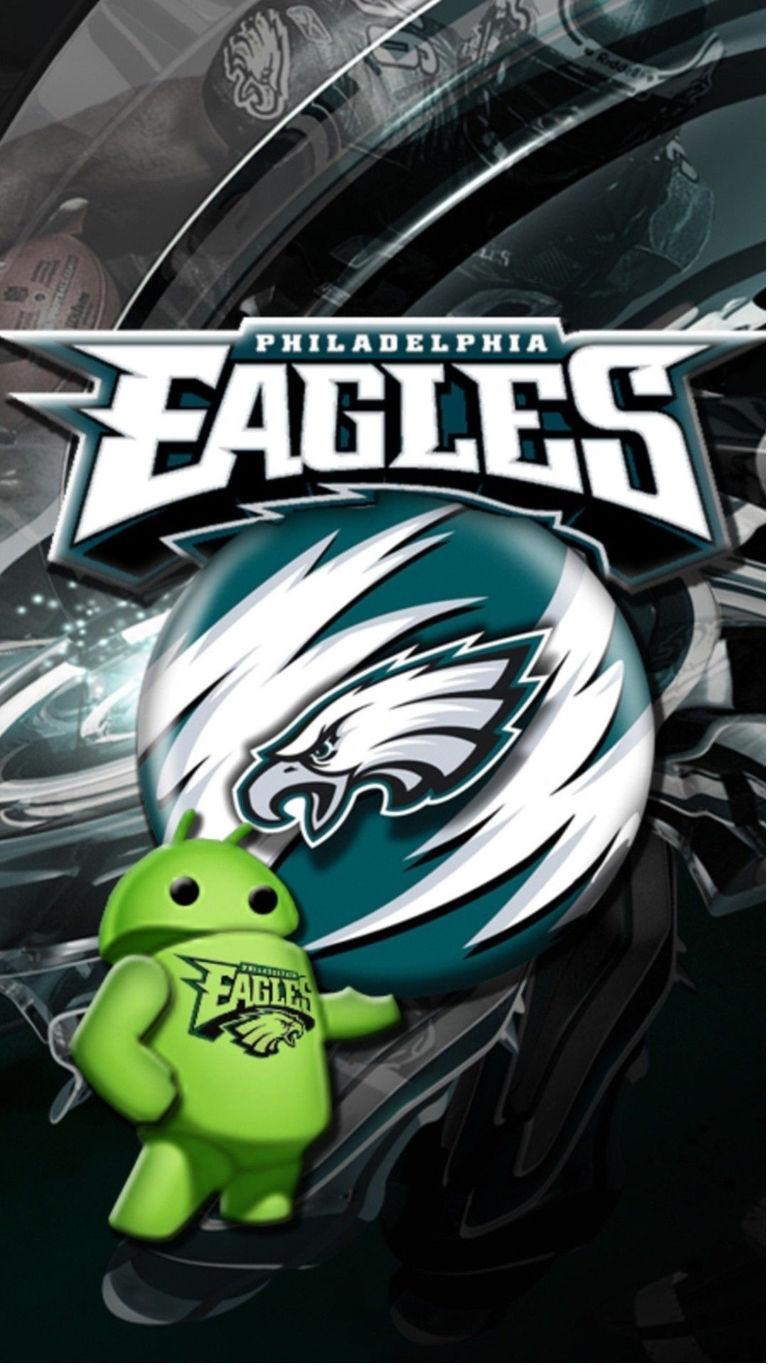 Res: 1080x1920, Resolution  Wallpaper: Philadelphia eagles Mobile Android .