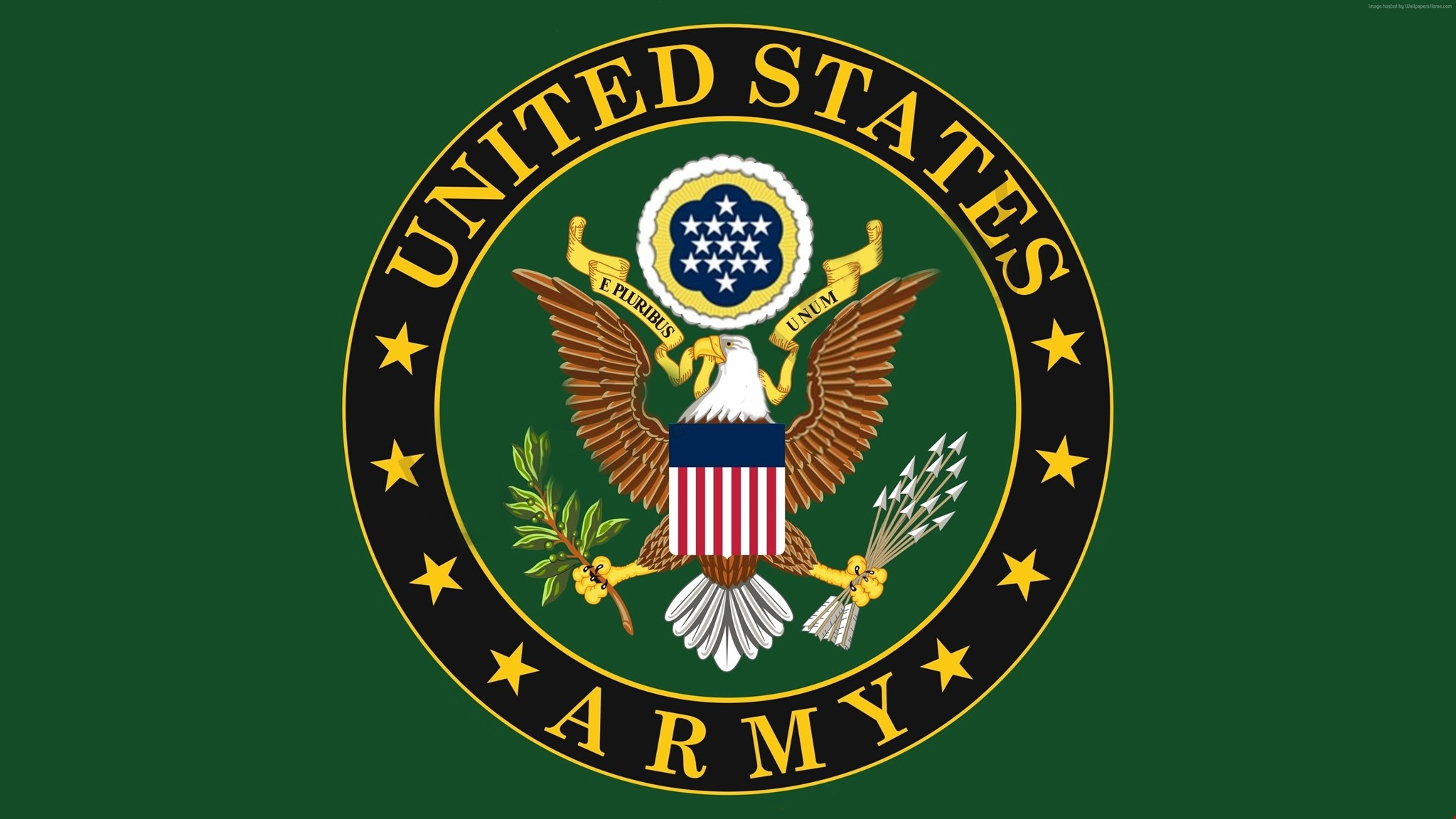 Res: 2048x1152, Download 3k U.S. Army, logo, eagle - Soldiers Wallpapers HD