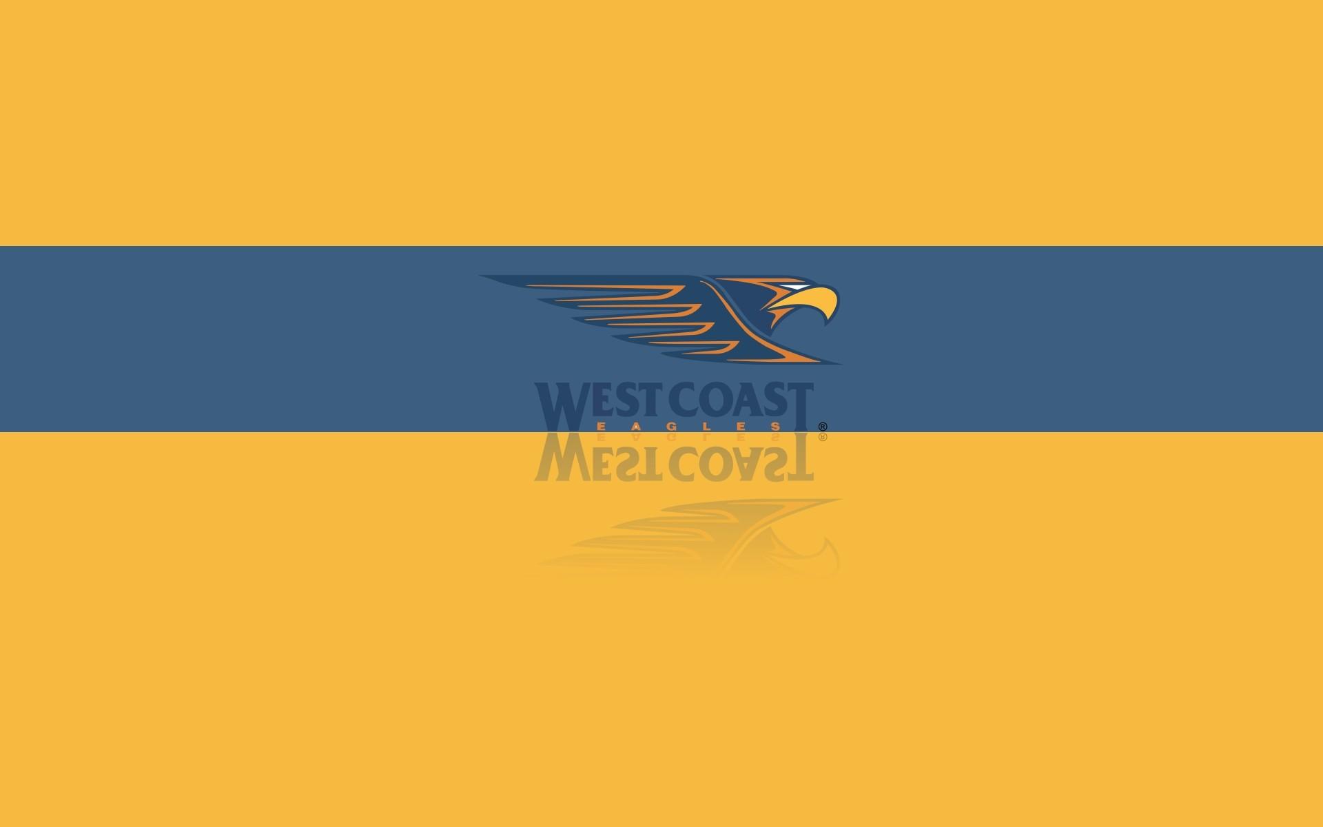 Res: 1920x1200, West Coast Eagles FC wallpaper, desktop background with team logo -  px