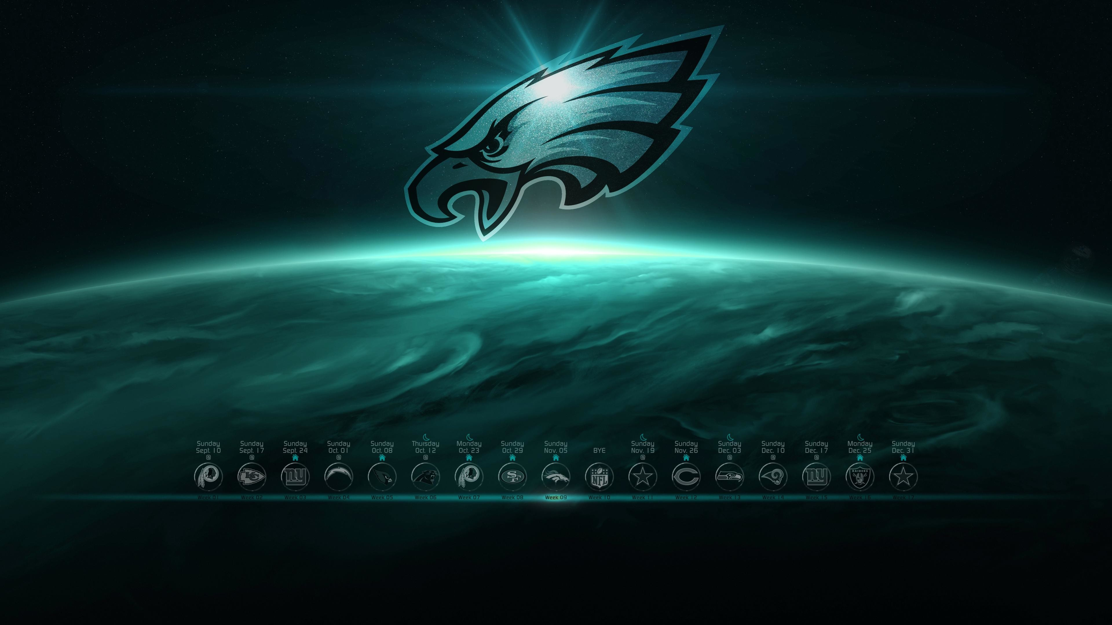 Res: 3840x2160, Philadelphia Eagles Wallpaper 2017 With Without Schedule Album For