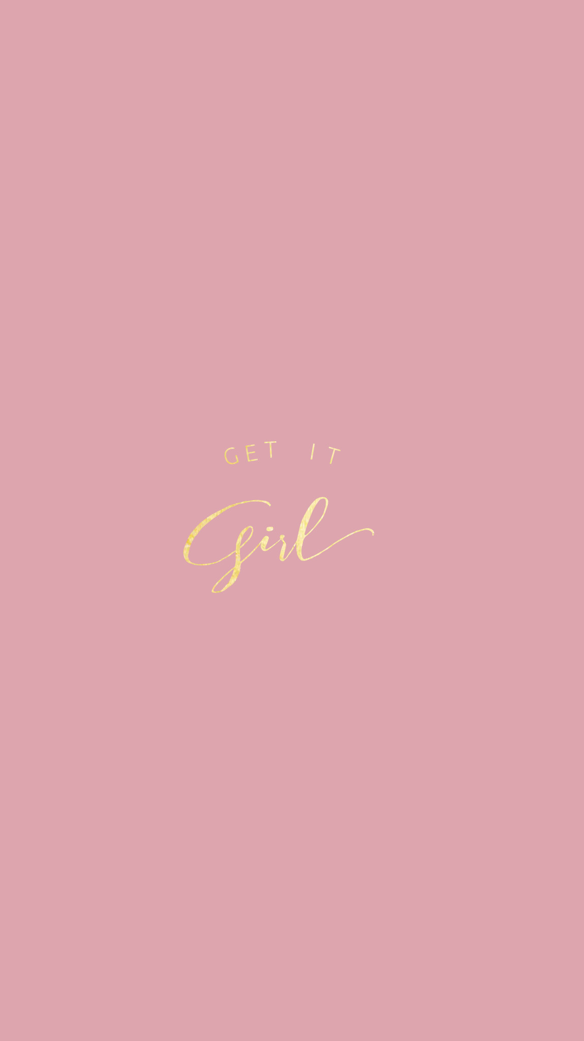 Res: 1149x2048, Rose Gold|Pretty Positivity™ iPhone Wallpaper @EvaLand