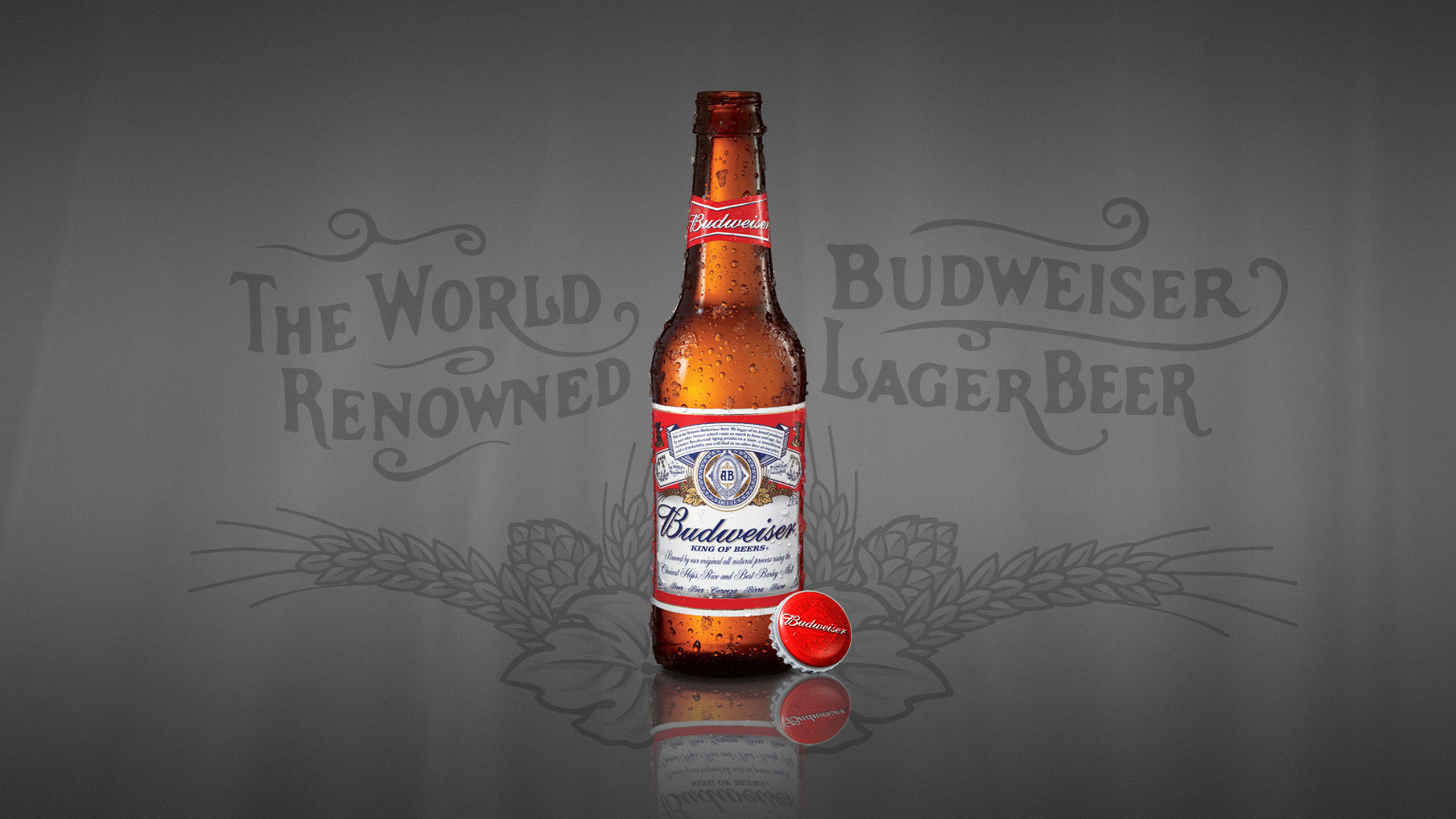 Res: 2560x1440, Budweiser Lager Beer The World 1920x1080 414 Hd