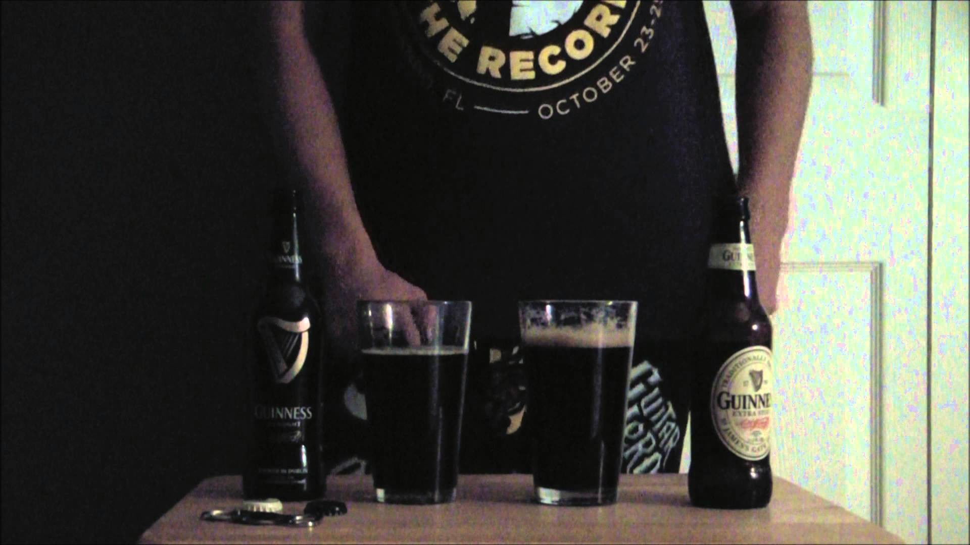 Res: 1920x1080, Double Beer Review - Guiness Draught vs Guiness Extra Stout