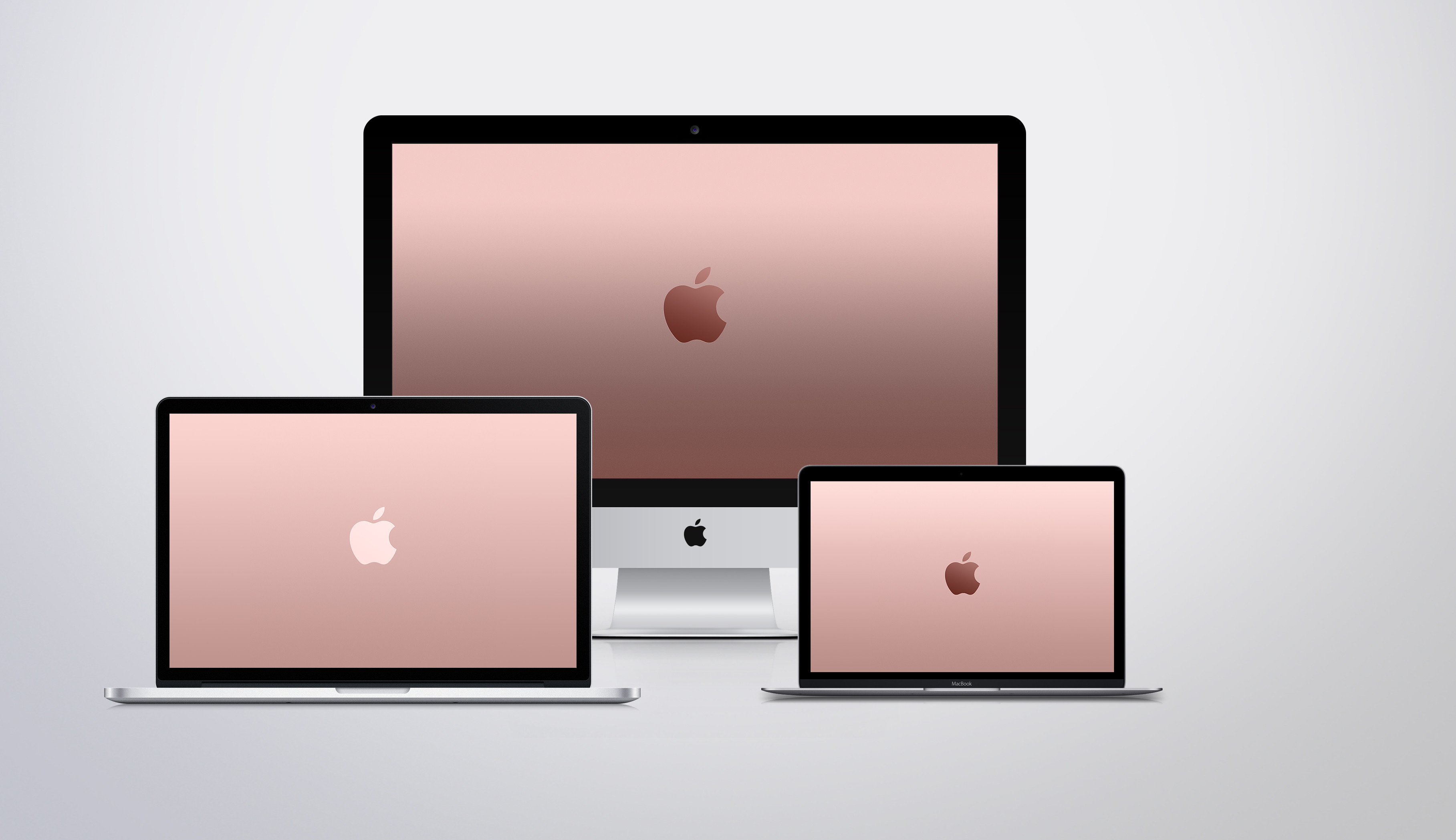 Res: 3634x2098, Apple Rose Gold Wallpapers by JasonZigrino Apple Rose Gold Wallpapers by  JasonZigrino