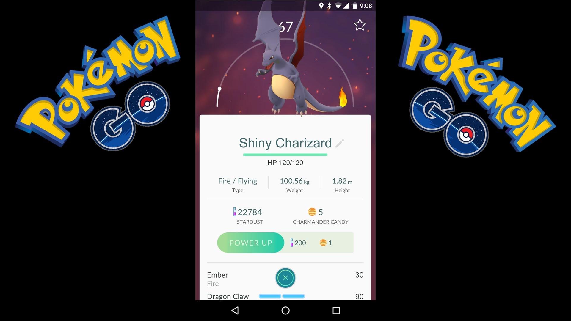 Res: 1920x1080, Pokemon GO - I CAUGHT F****** SHINY CHARIZARD