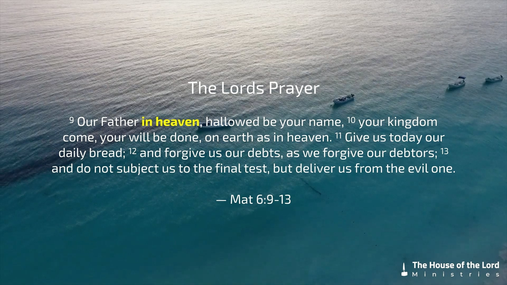 Res: 1920x1080, In Heaven – The Lord's Prayer 2/7