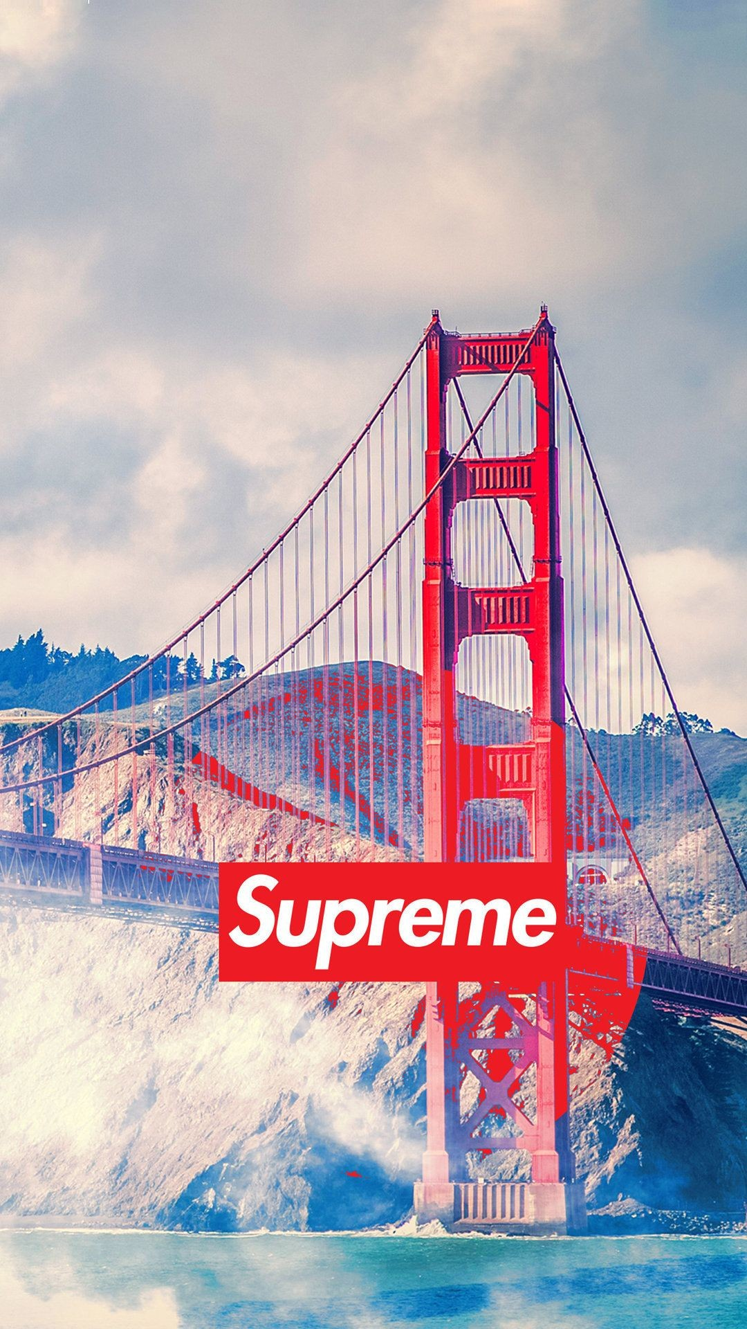 Res: 1080x1920, san francisco supreme - Tap to see more of the Supreme wallpapers! -  @mobile9