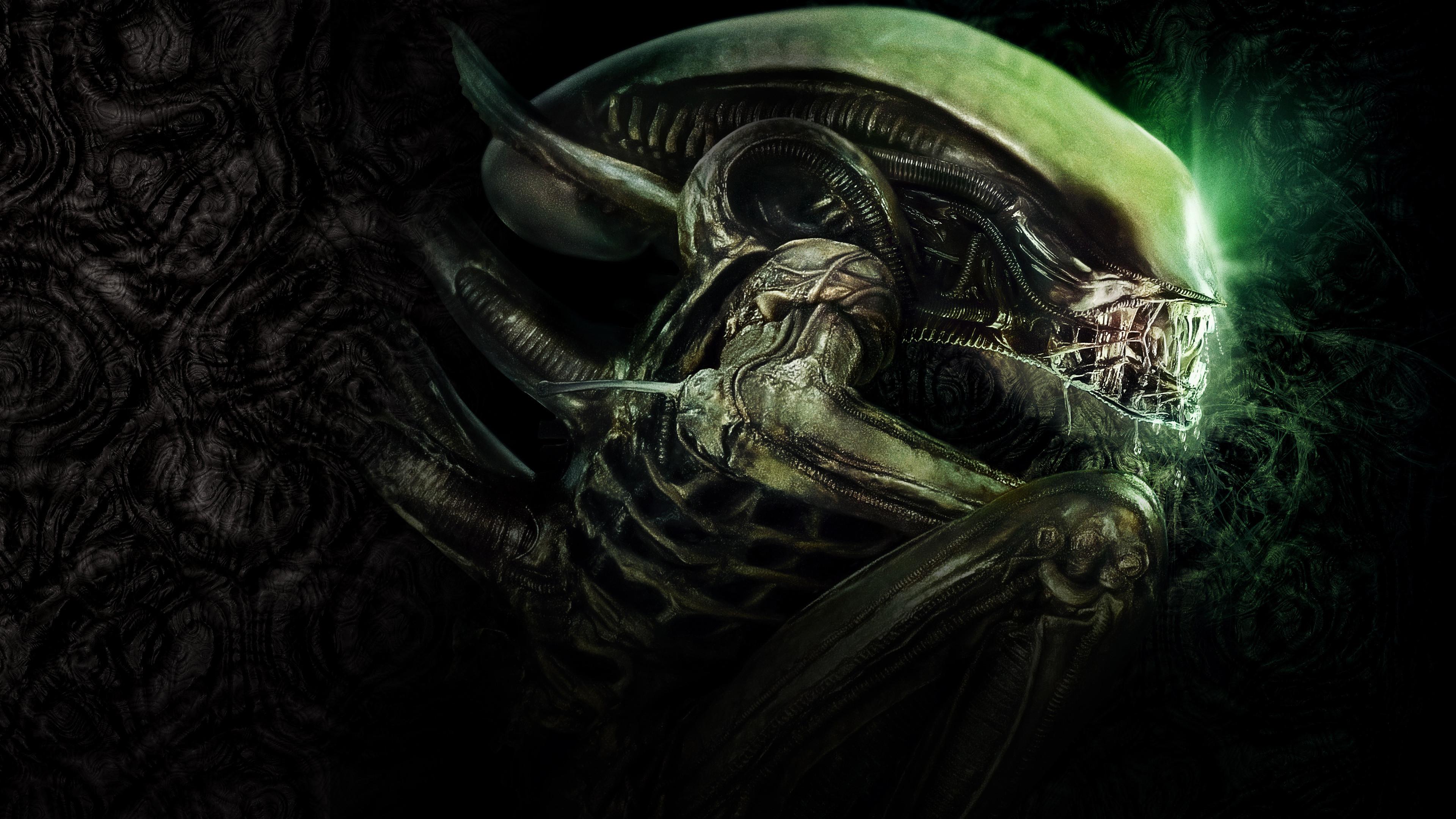Res: 3840x2160, Movies / Alien Wallpaper. Alien, 4K. Original Resolution ()Popular  ...