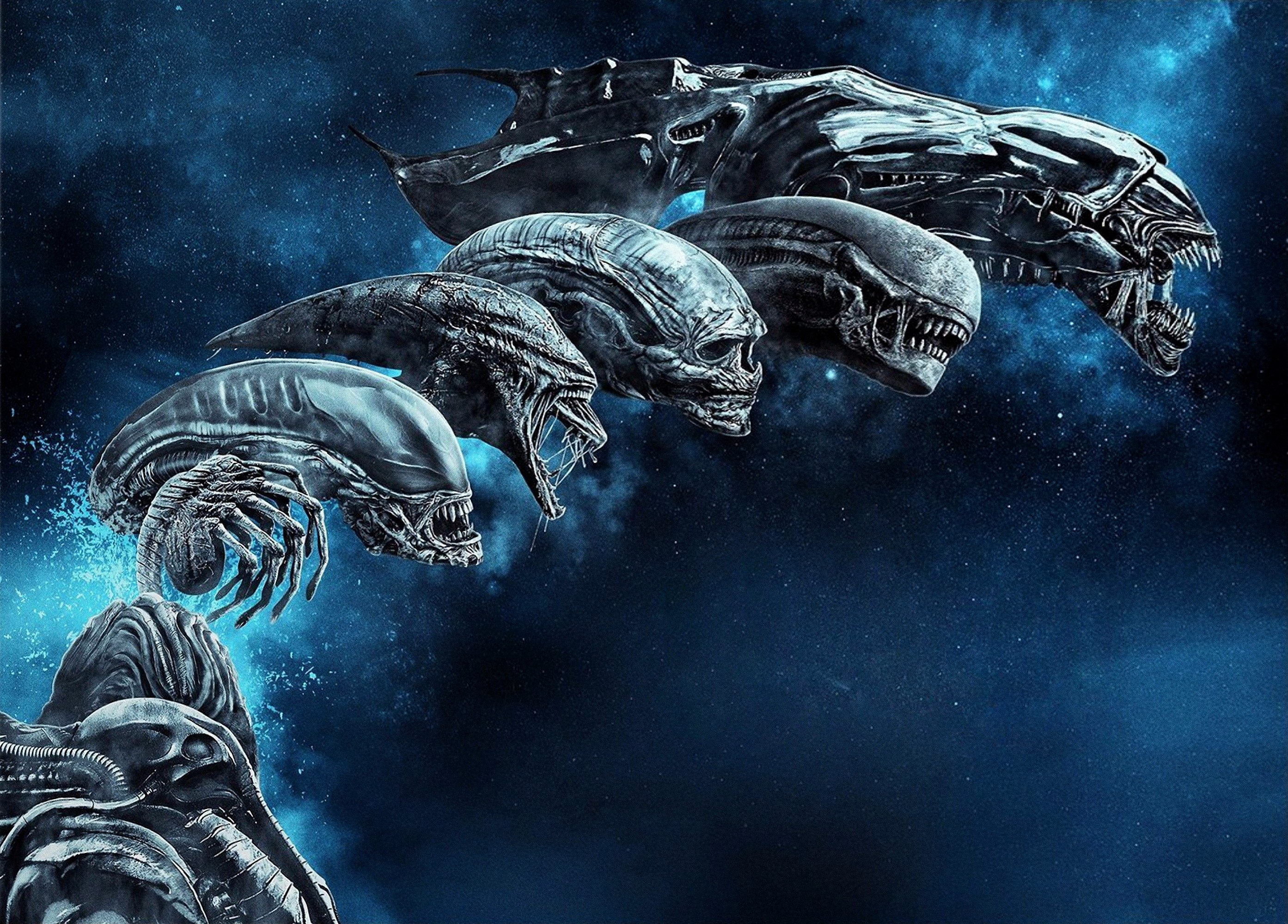 Res: 2787x2000, HD Wallpaper   Background Image ID:886516.  Movie Alien