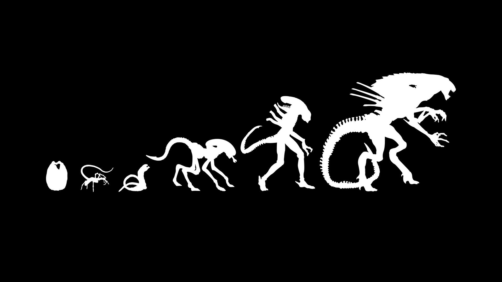 Res: 1920x1080, Alien evolution wallpaper