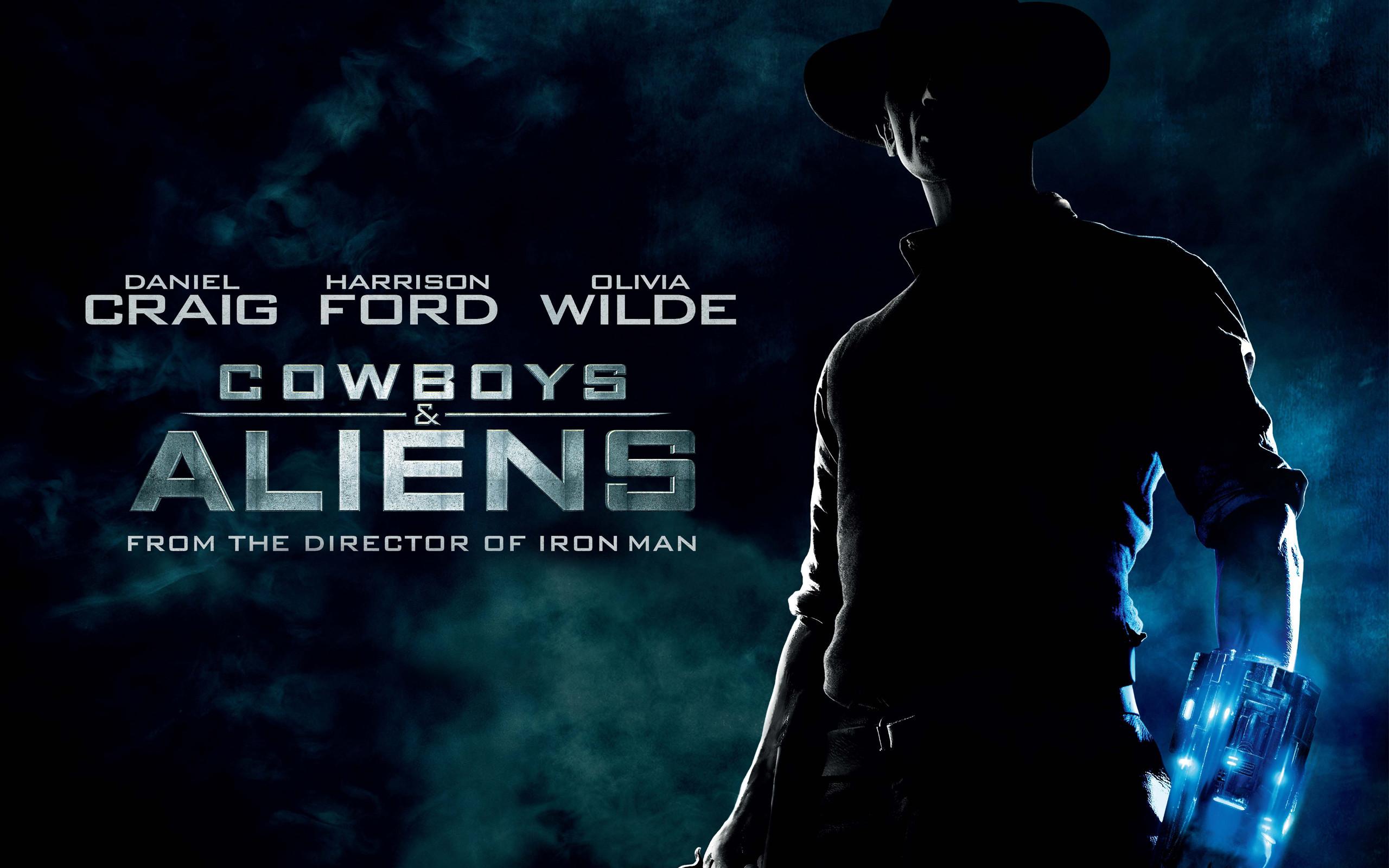Res: 2560x1600, Cowboys Aliens Movie