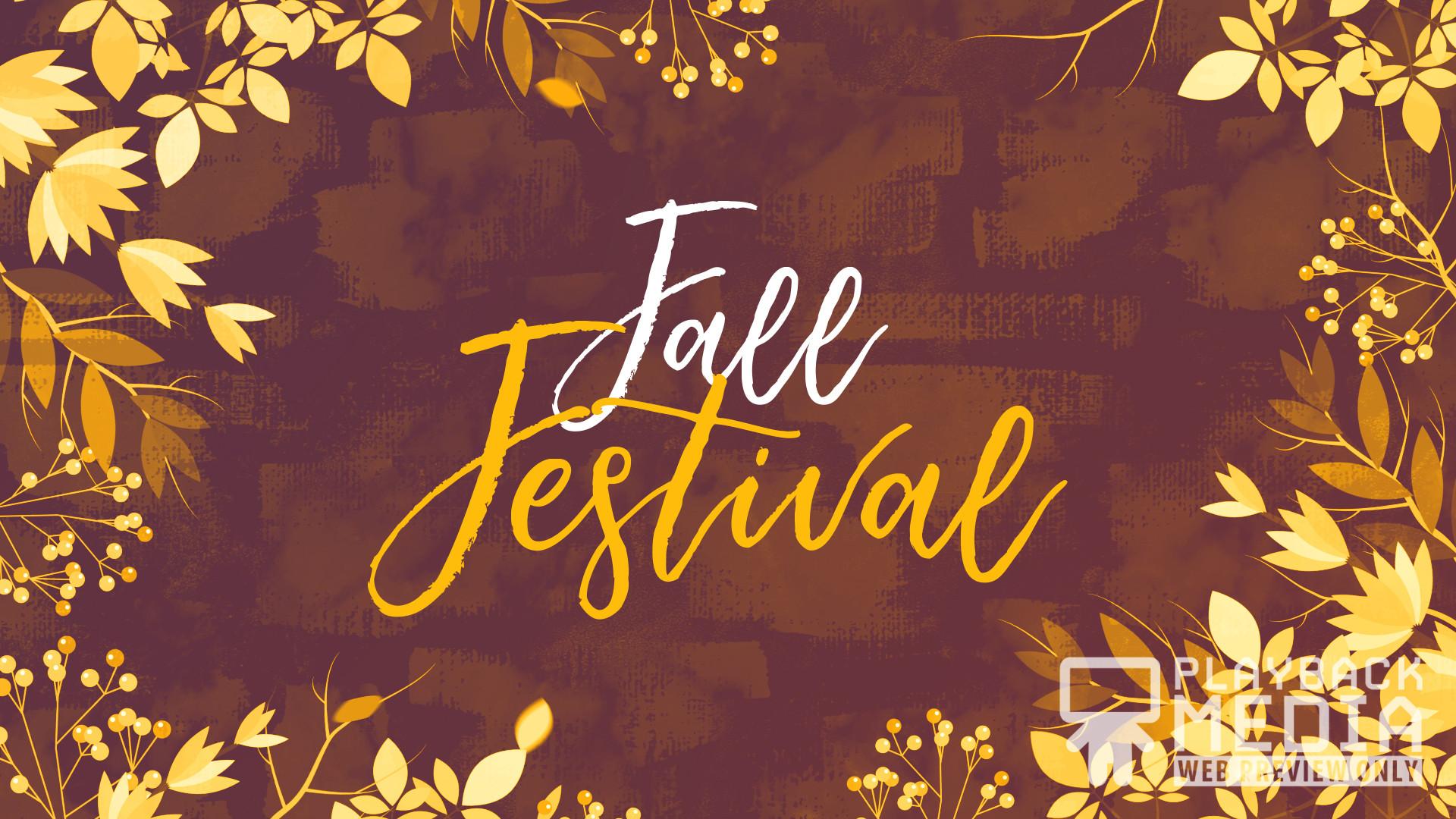 Res: 1920x1080, Autumn Breeze Fall Festival Still