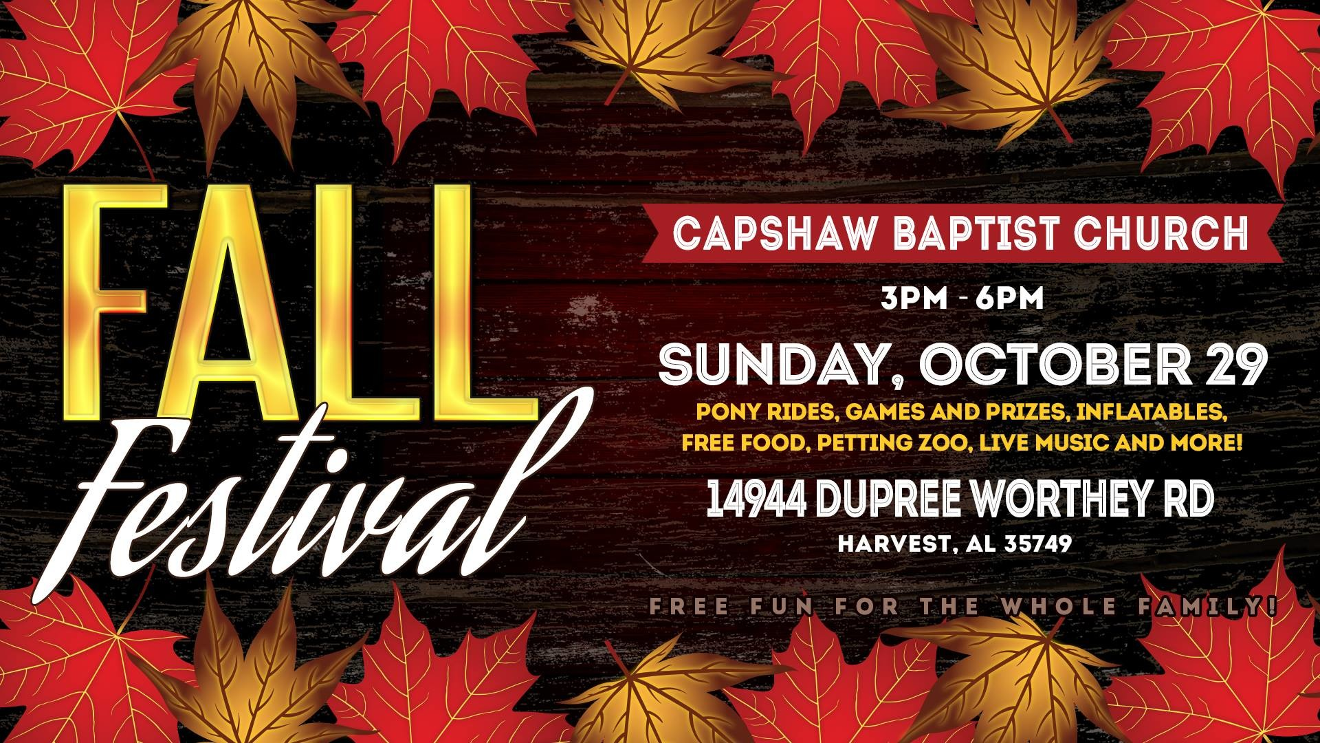 Res: 1920x1080, Capshaw Baptist Church; Phone: 256-232-7763: 14994 Dupree Worthey Road  Harvest, AL 35749 United States + Google Map