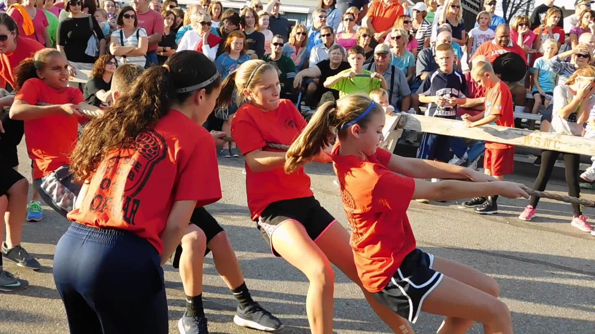 Res: 1920x1080, 2015 Evansville Fall Festival - October 6 - Tug of War - Helfrich Park VS  Need Name of School