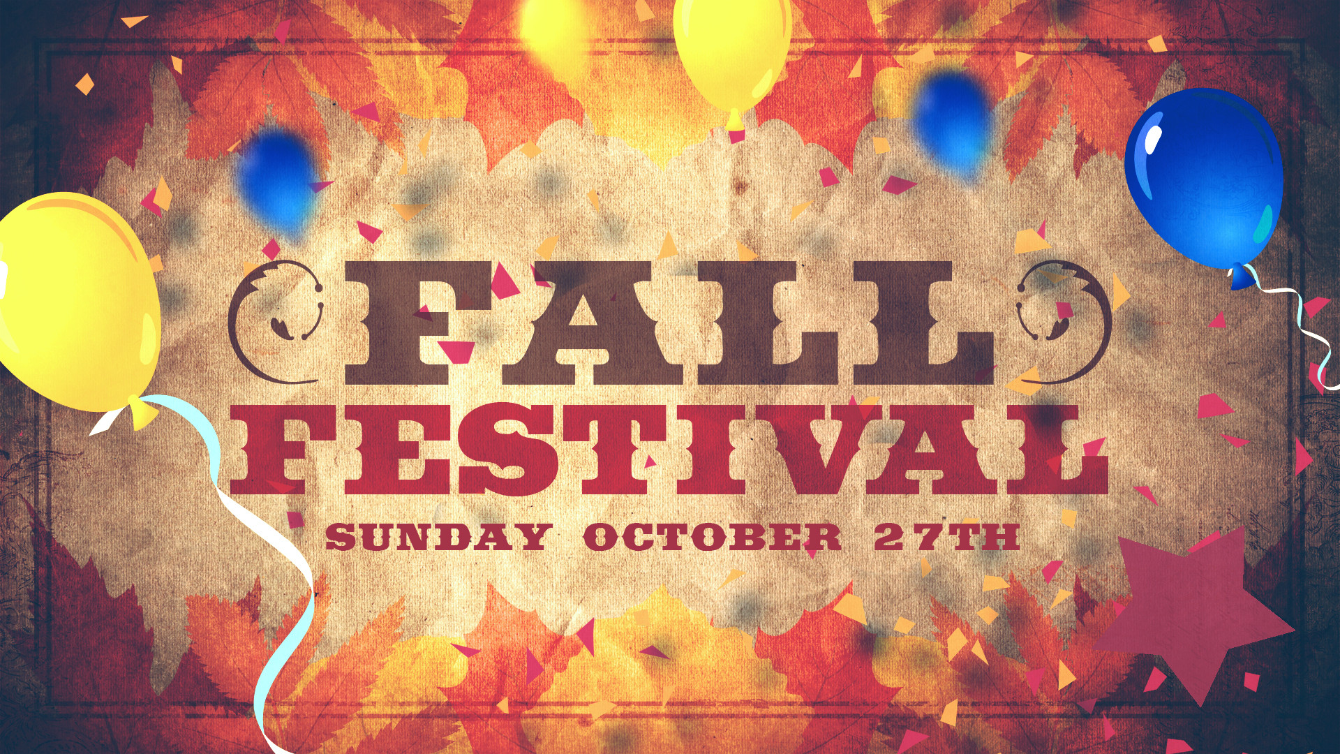 Res: 1920x1080, Joy Church Fall Festival – for kids of all ages! | Joy Church | Tired of  enduring life? Start enjoying life!
