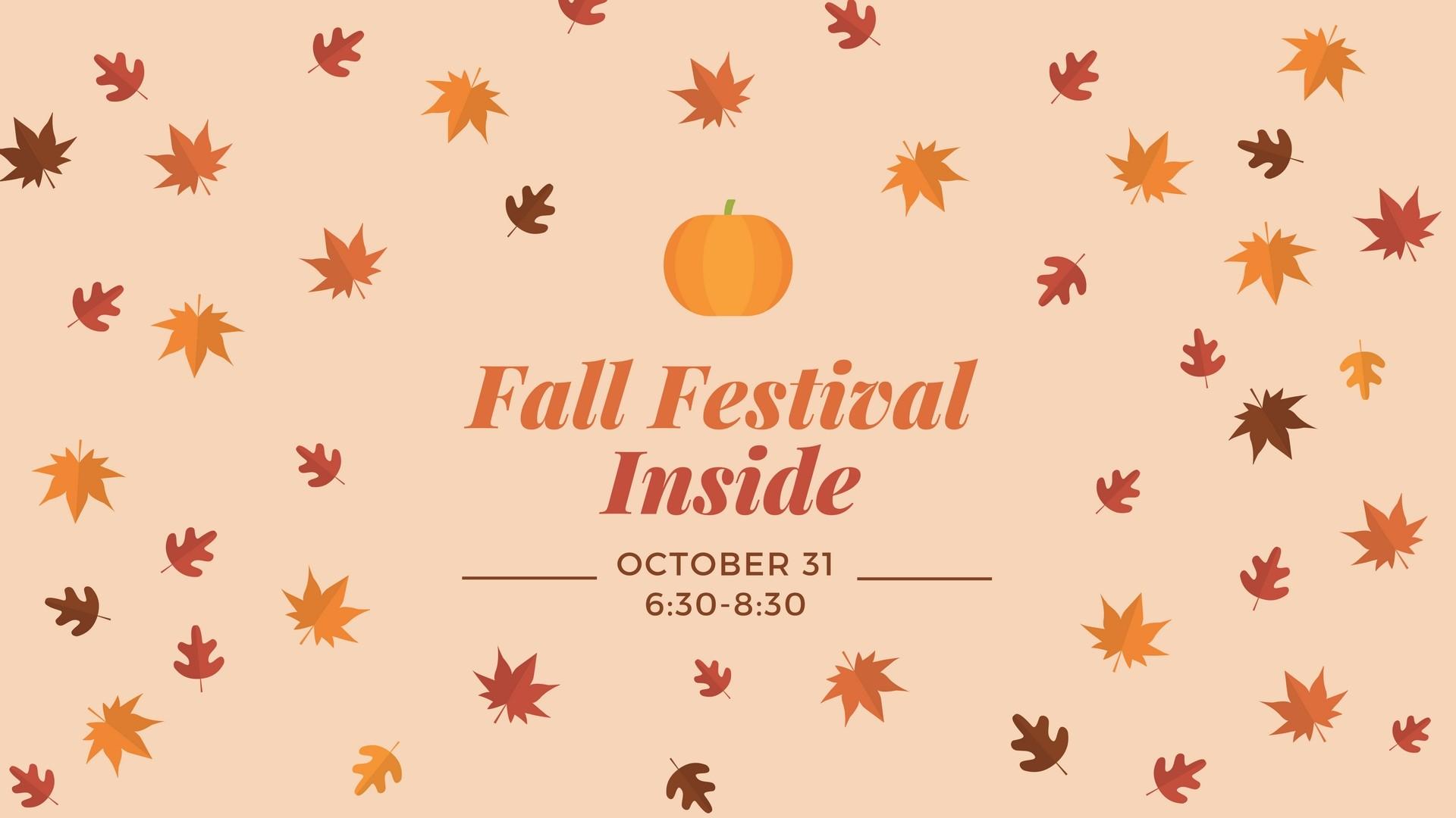 Res: 1920x1080, Fall Festival TONIGHT! rain or shine