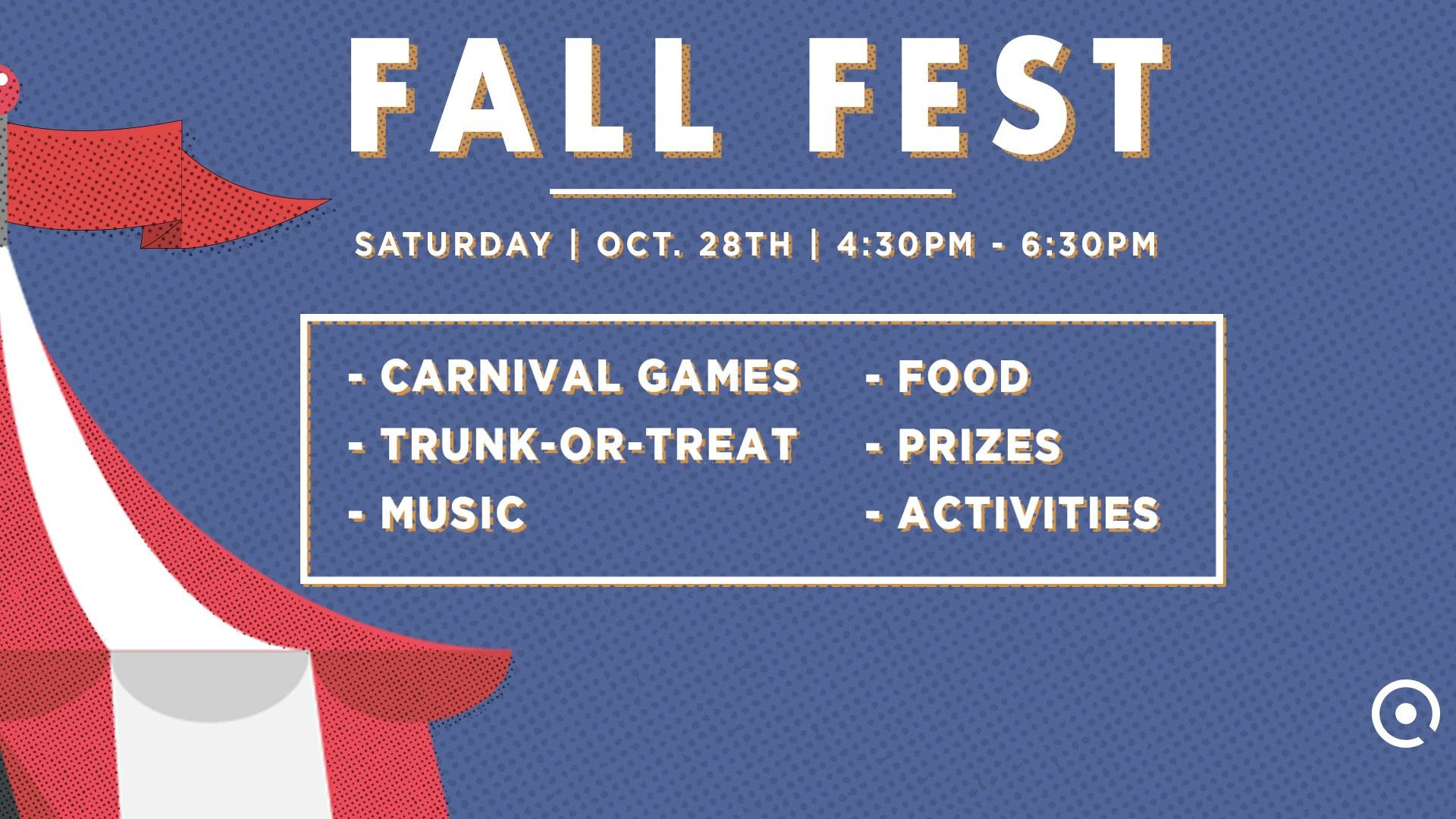 "Res: 1920x1080, ""Join us for a fun evening of carnival games and Trunk-or-Treat,"" the event  information reads. ""Kids of all ages will enjoy games, prizes, activities  and a ..."