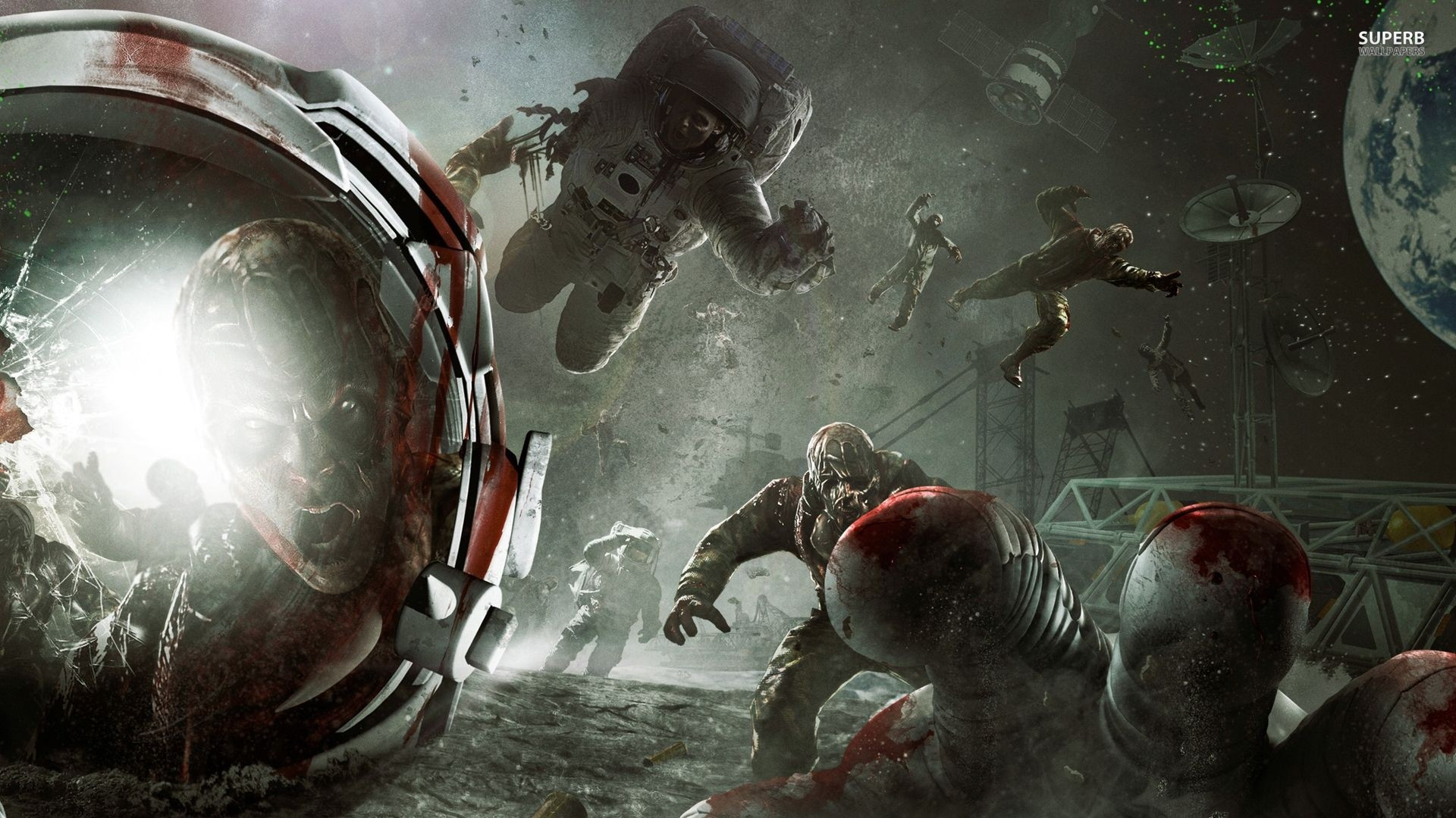Res: 1920x1080, zombie animated wallpaper hd - Call of Duty World at War Zombies wallpaper  Game wallpapers