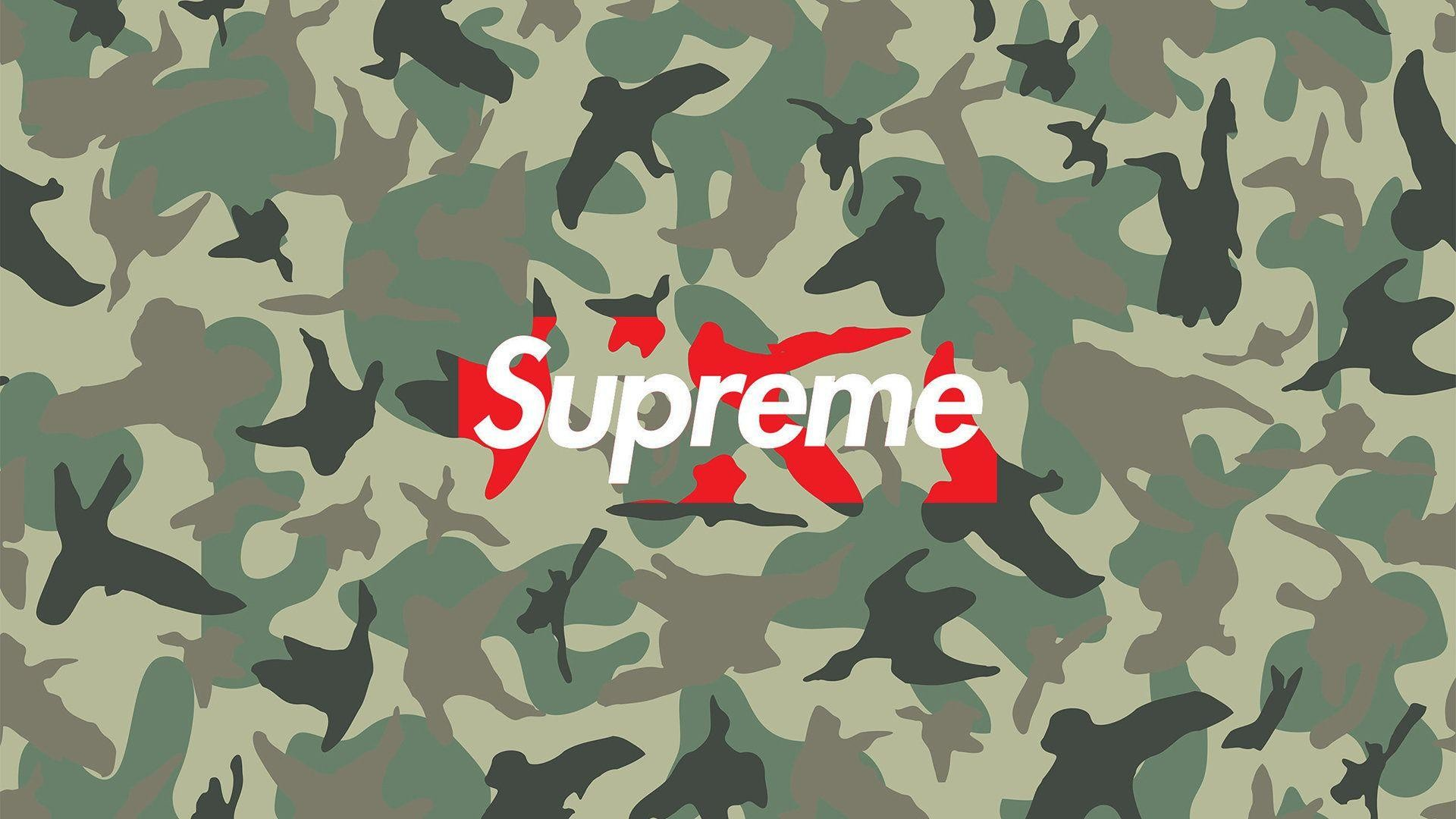 Res: 1920x1080, supreme wallpapers camo