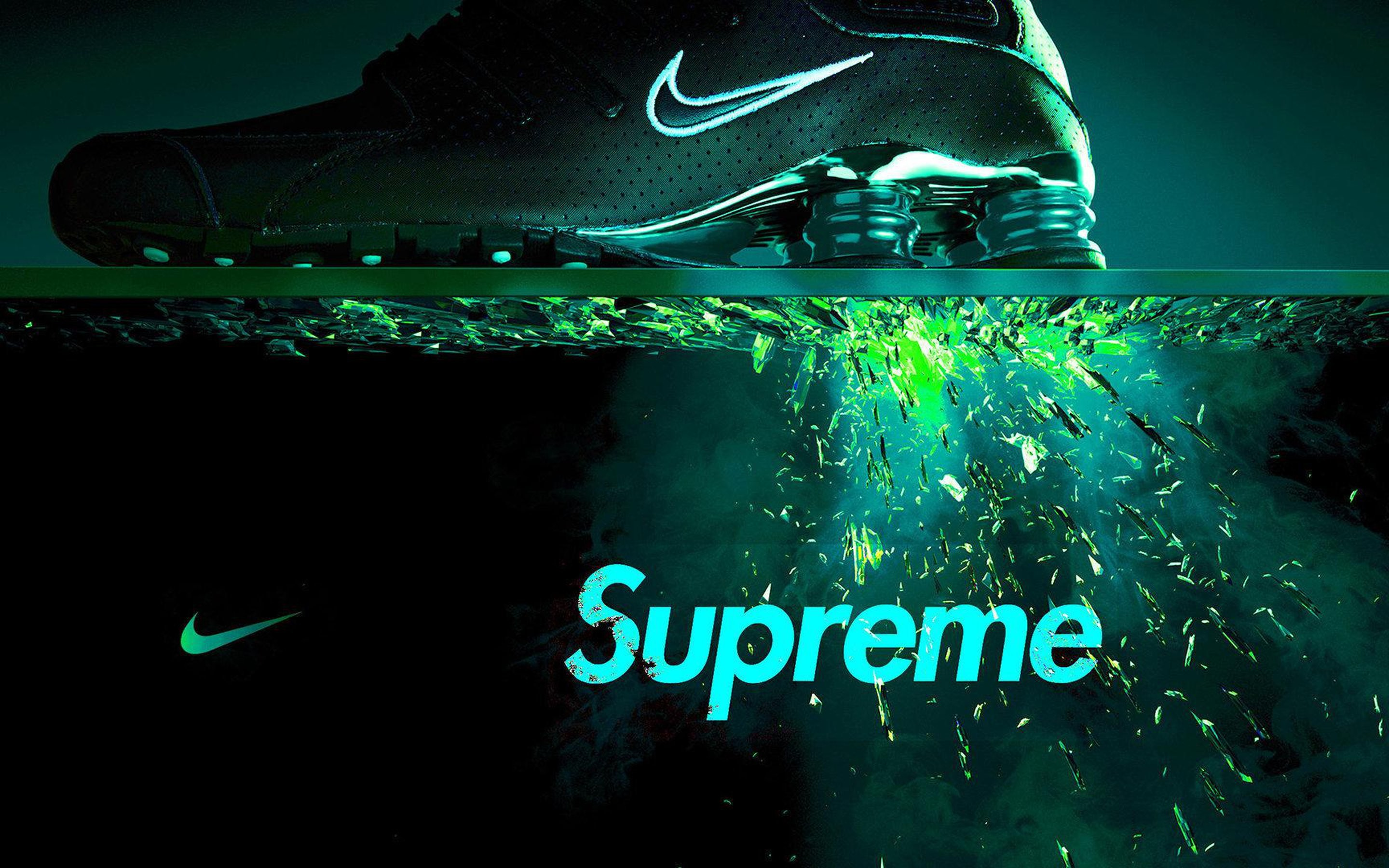 "Res: 2880x1800, Macbook Pro 15"" Nike Supreme Wallpaper : Brands Wallpaper for Phone &  Desktop Backgrounds Collections"