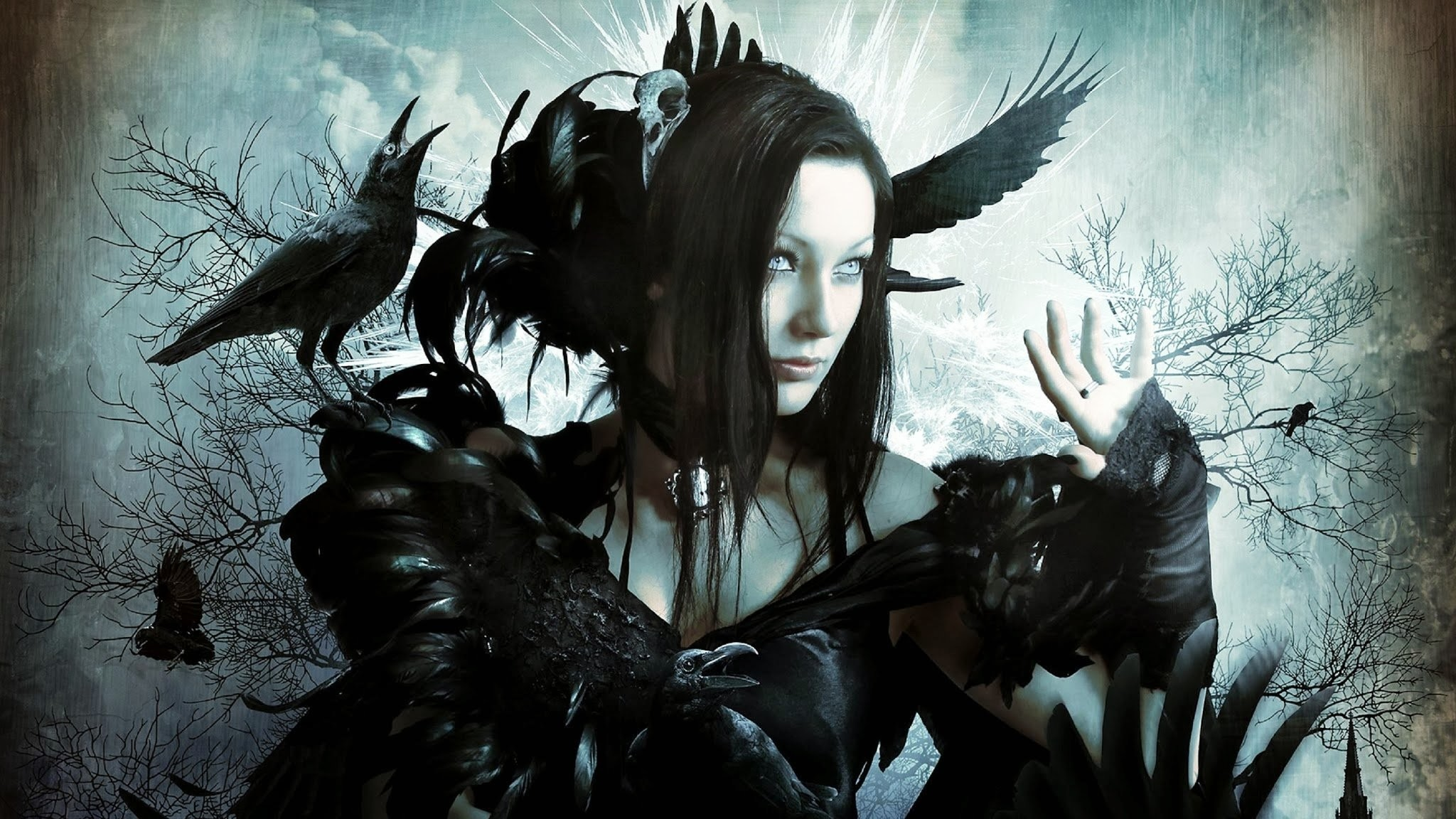 Res: 2048x1152, Dark emo gothic fetish girl girls vampire cyber goth wallpaper |   | 800883 | WallpaperUP