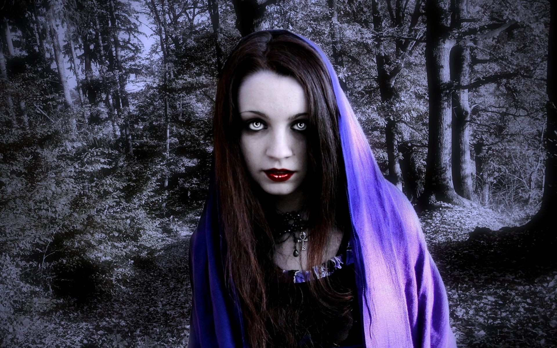 Res: 1920x1200, gothic women fantasy | dark fantasy horror gothic women vampire wallpaper  background