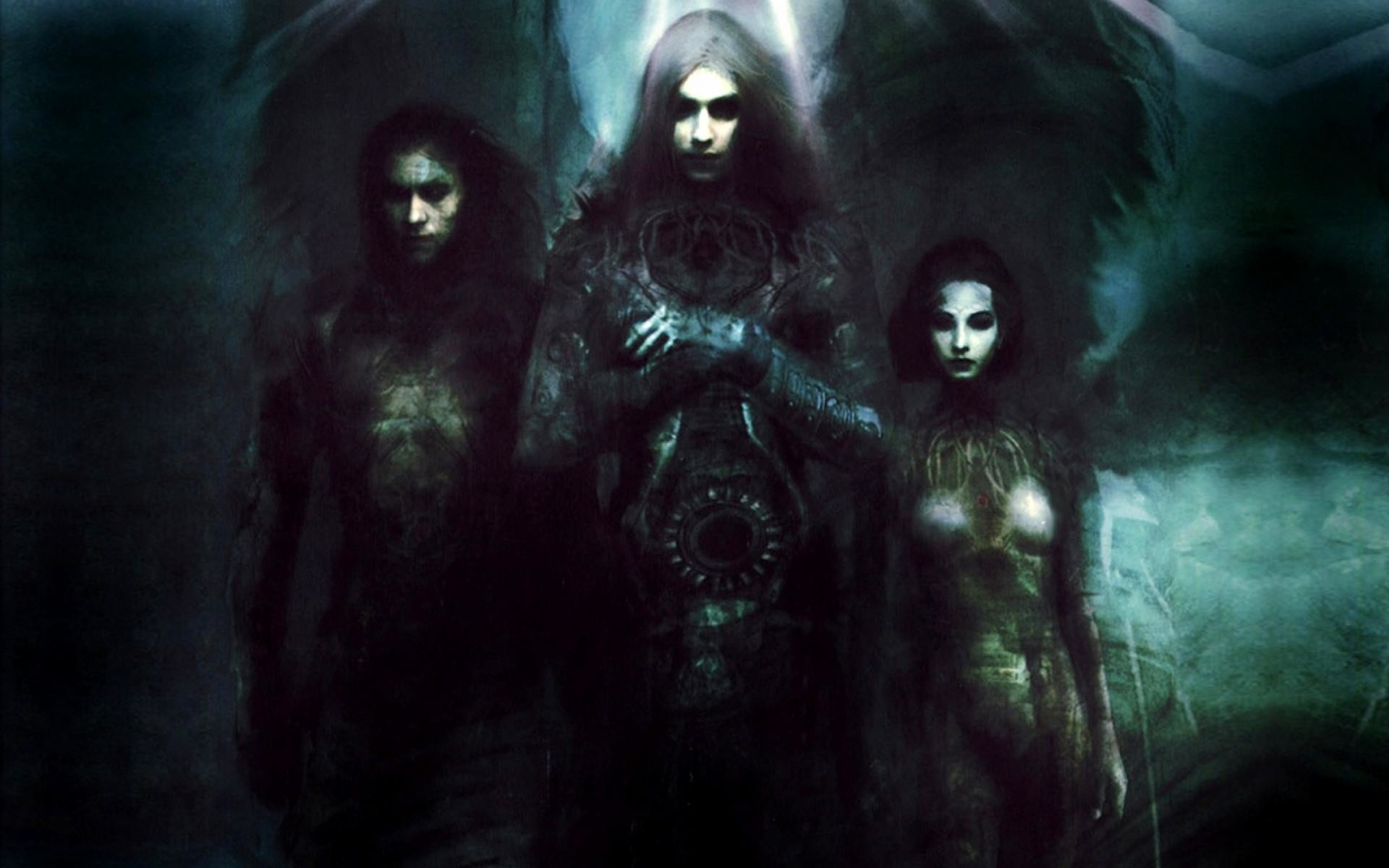 Res: 1920x1200, ... babes women, gothic, windows desktop images,dark, halloween,  widescreen, spooky, art, men,fun, fantasy, artwork, vampires, angels, evil  Wallpaper HD
