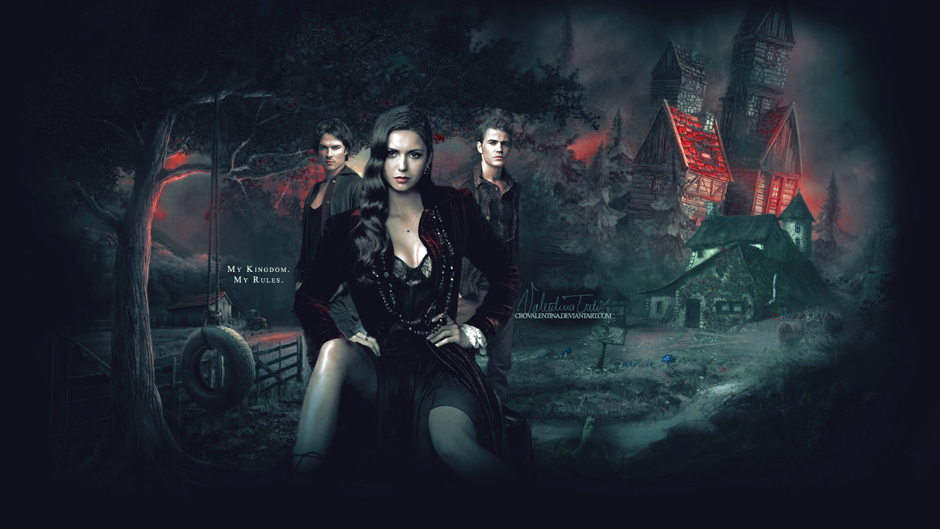 Res: 1920x1080, The Vampire Diaries desktop wallpaper