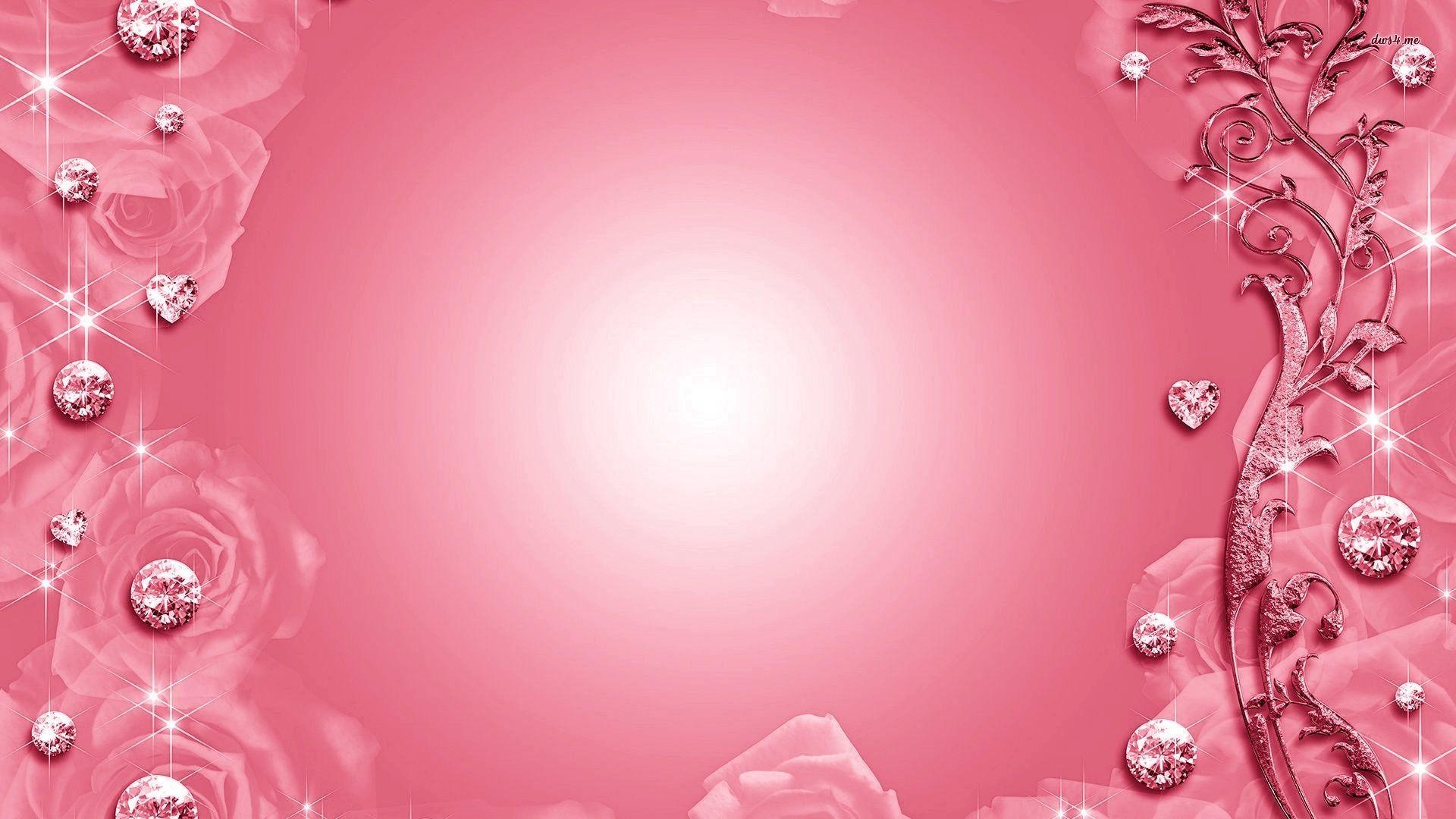Res: 1920x1080, pink diamond wallpaper HD2