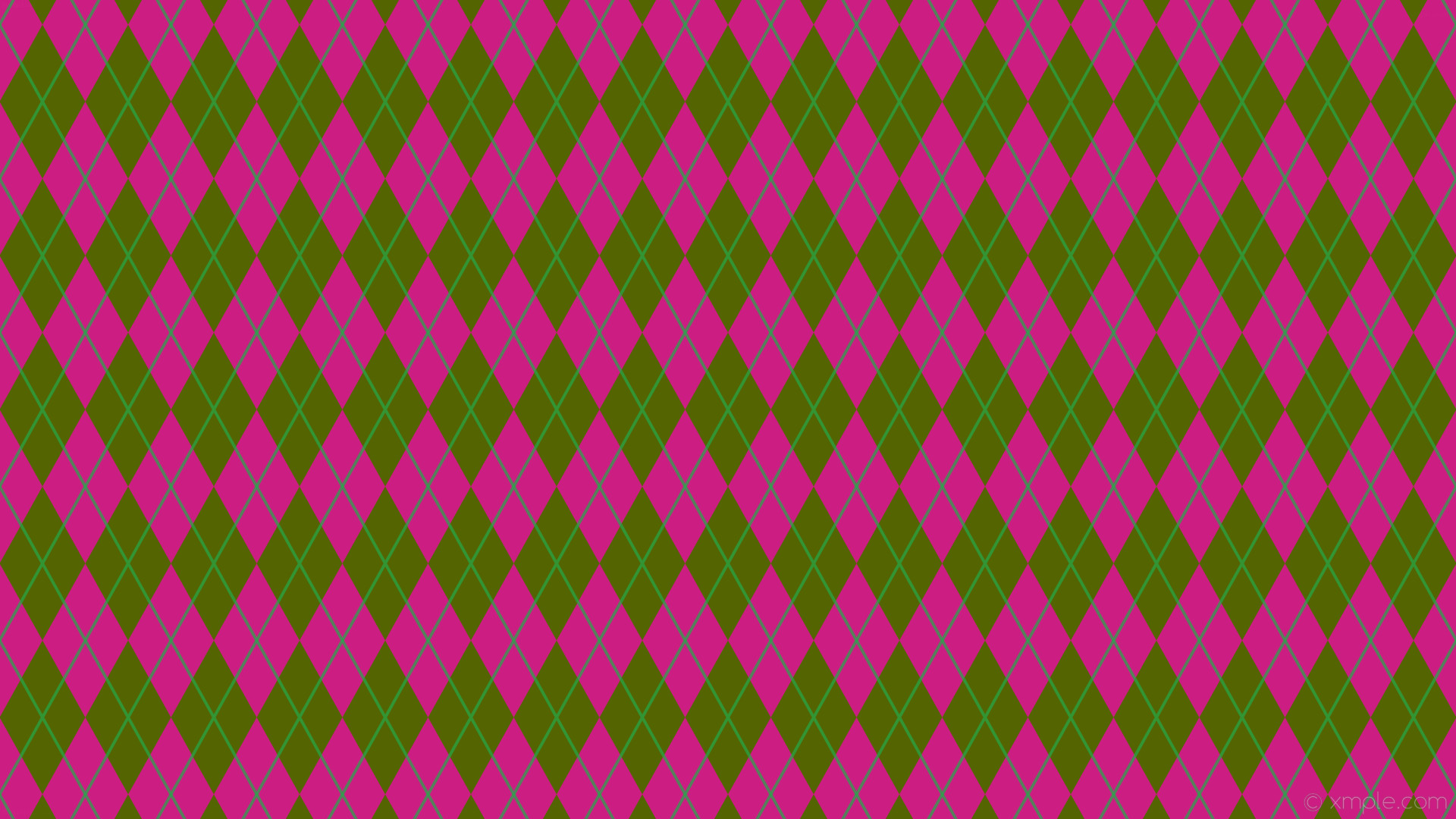 Res: 1920x1080, wallpaper lines turquoise pink diamonds yellow argyle dark yellow #536400  #ff01b9 #26a84a 0