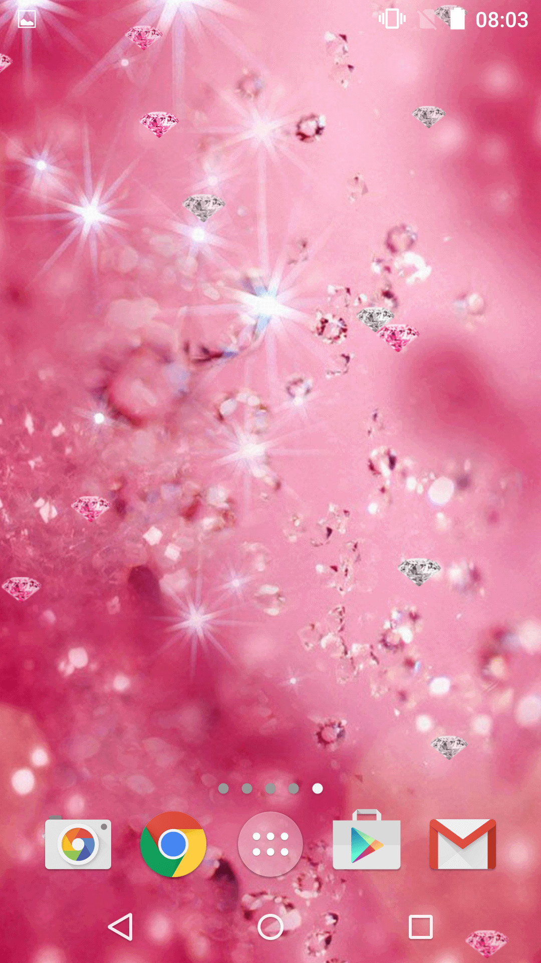 Res: 1080x1920, Pink Diamonds Live Wallpaper Apk Personalization Screenshot Coloring Book  Environmentally Friendly Carpet Custom Office Widescreen Hd For Computer
