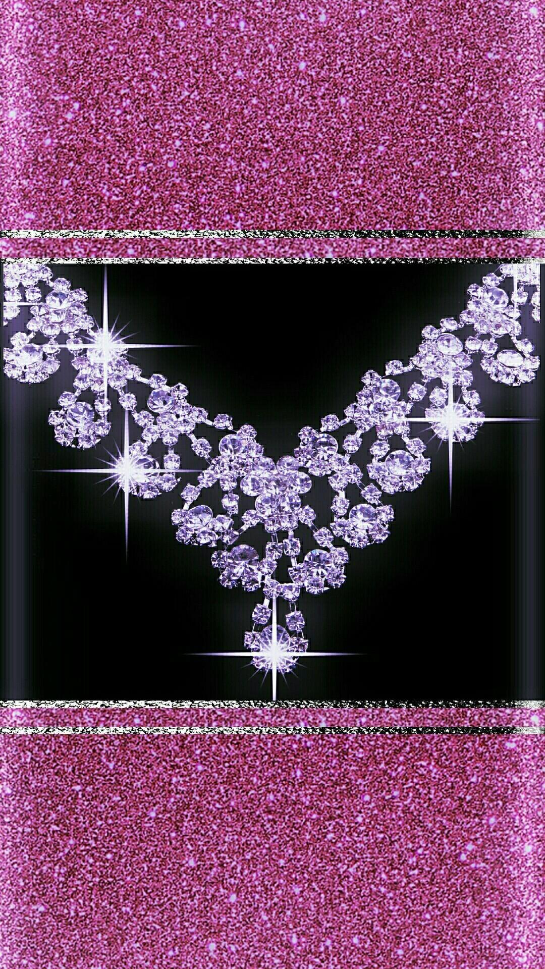 Res: 1080x1920,  Pinke Diamanten