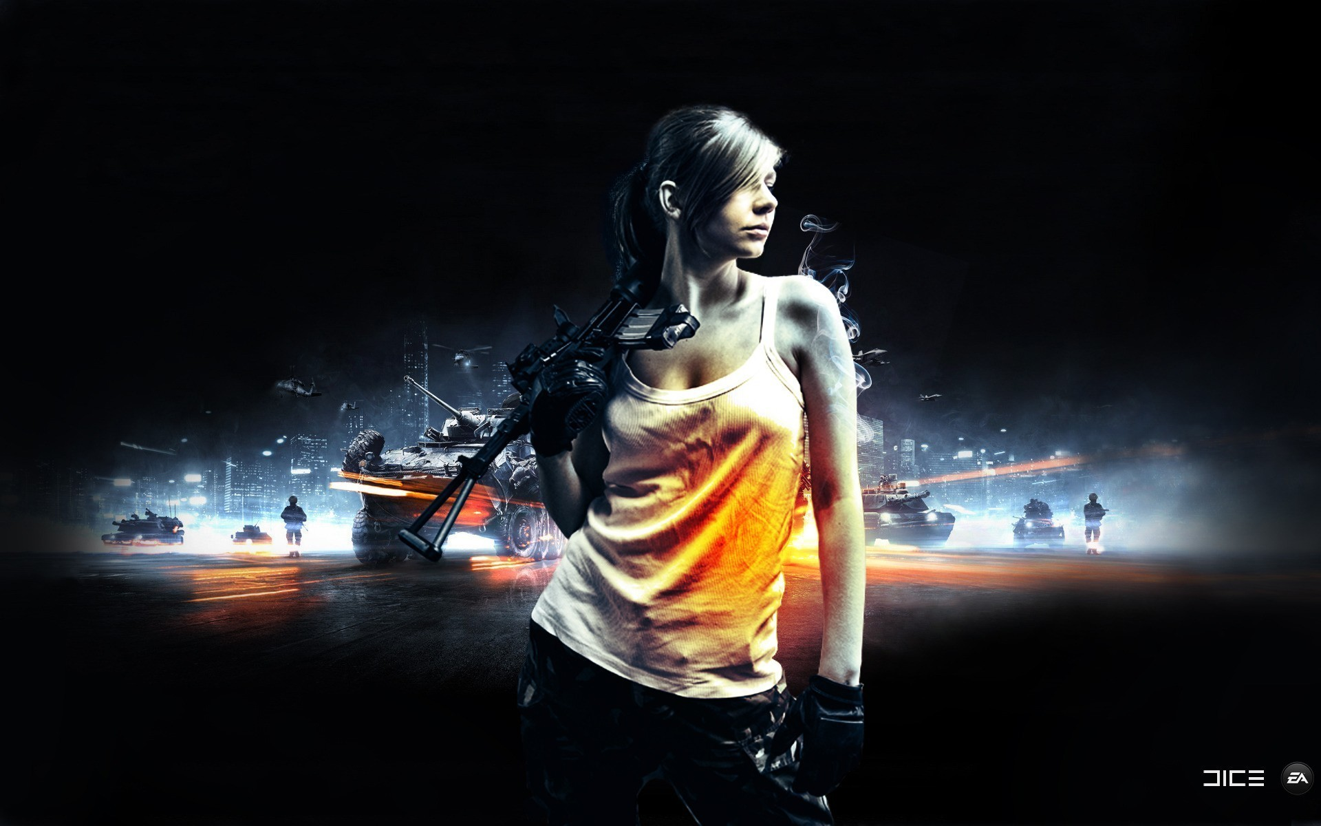 Res: 1920x1200, Gamer Girl Latest Images HD Wallpapers