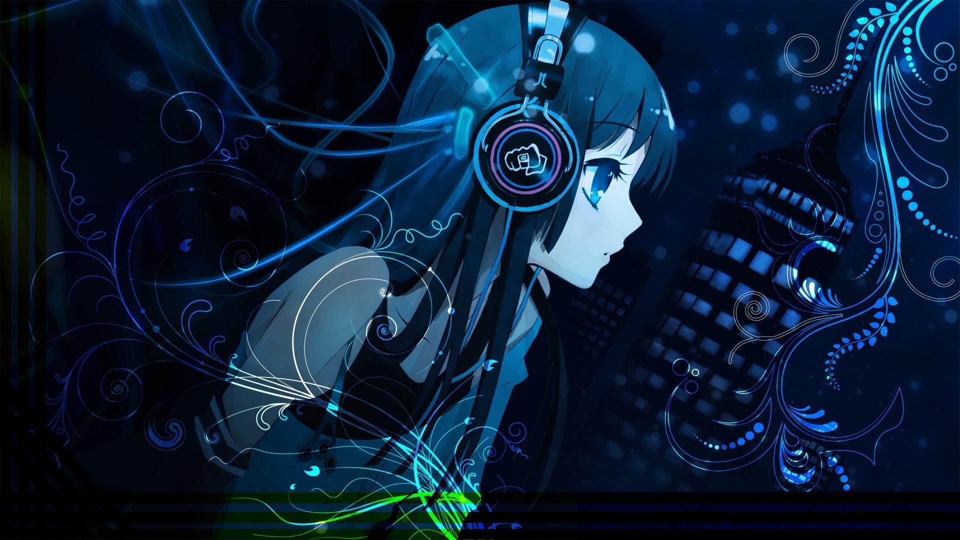 Res: 1920x1080, Anime Gamer Girl HD Desktop Wallpaper 21377
