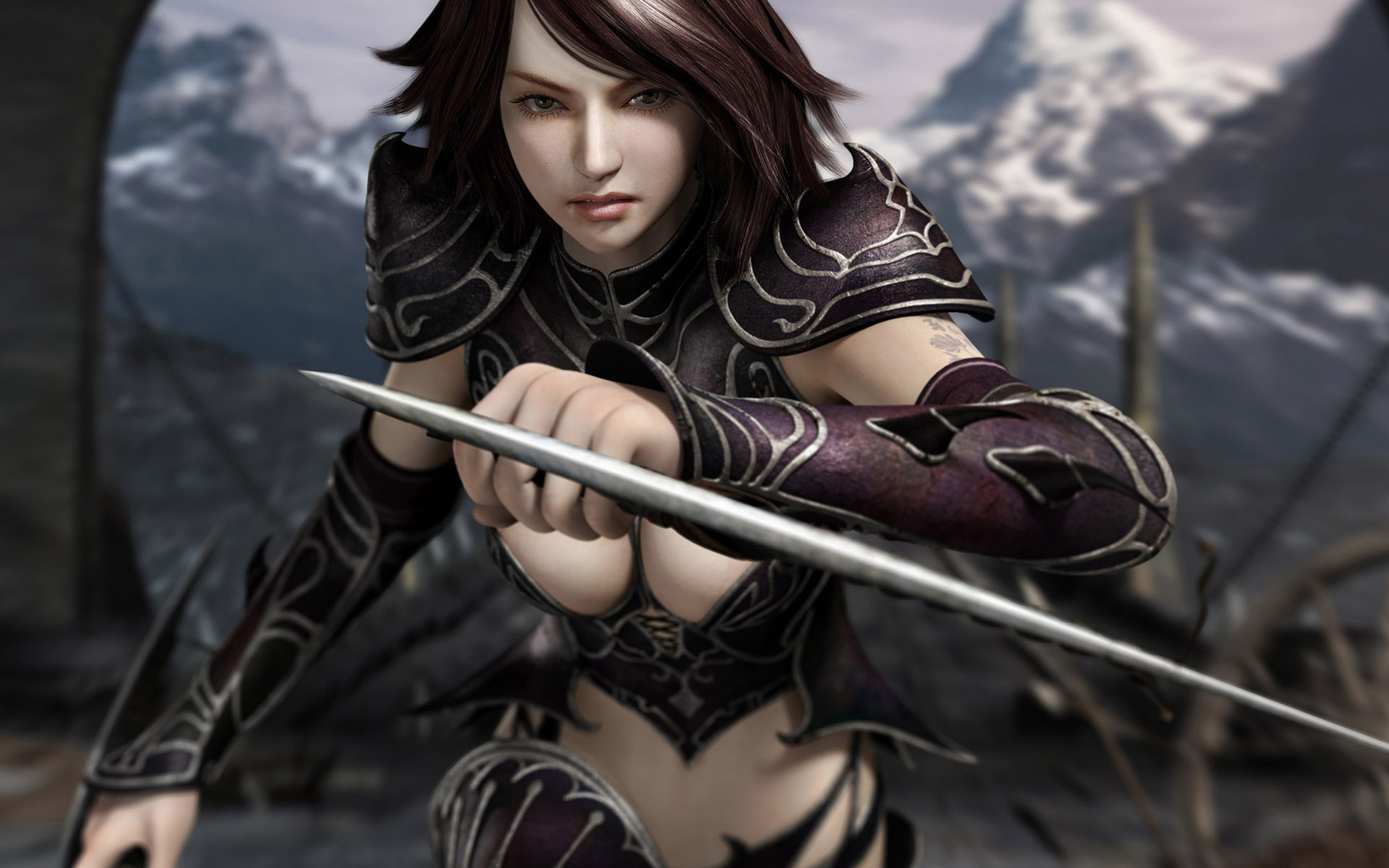 Res: 1920x1200, Collection Amazing Video Game Girl Character Wallpaper