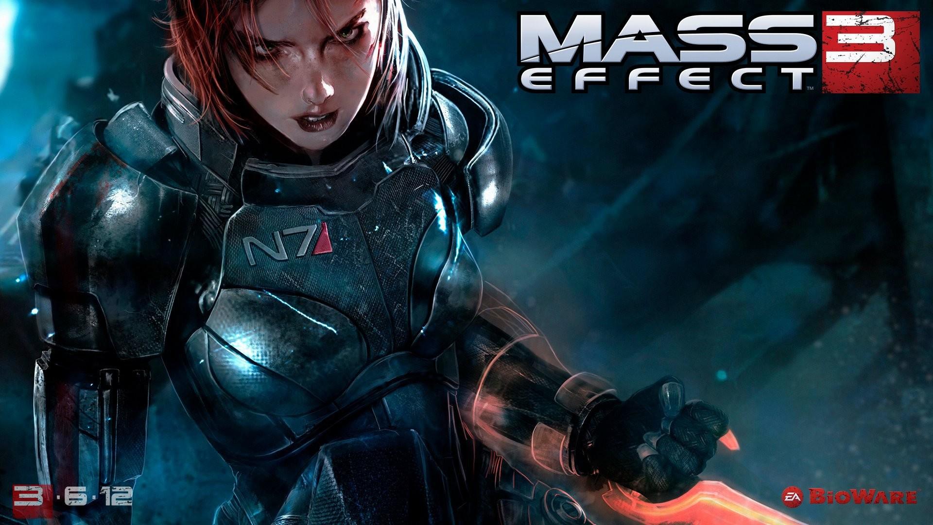 Res: 1920x1080, Mass Effect 3 Shepherd Wallpaper