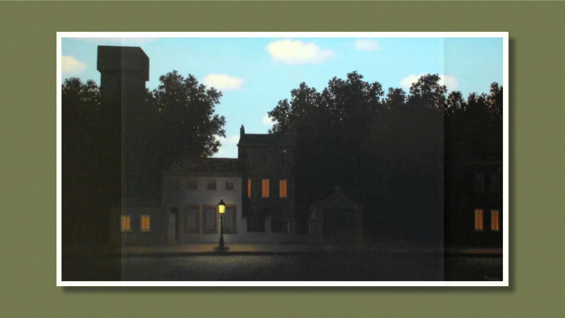Res: 1920x1080, Empire of Light, René Magritte