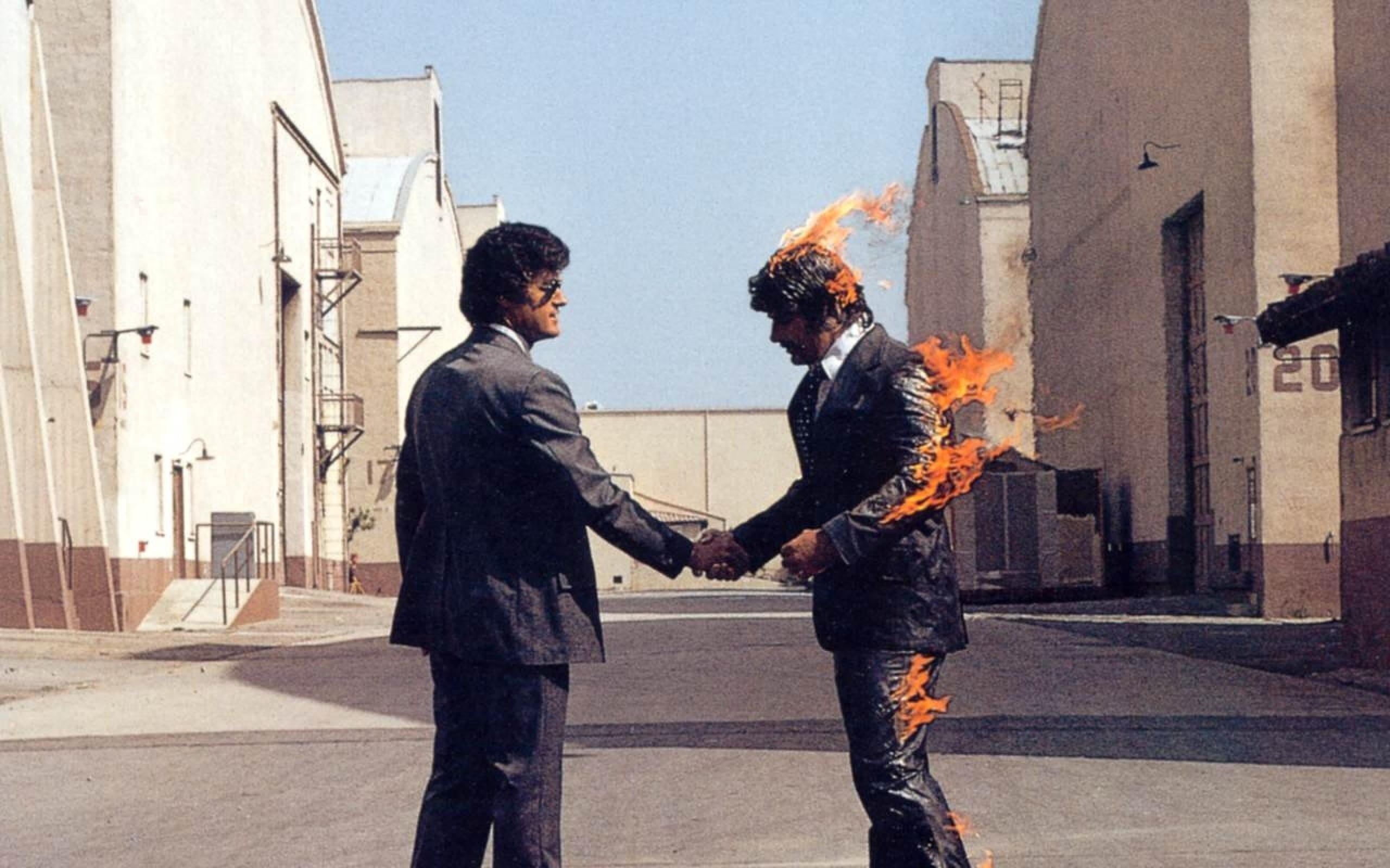 Res: 2560x1600, Pink Floyd Wish You Were Here Wallpaper