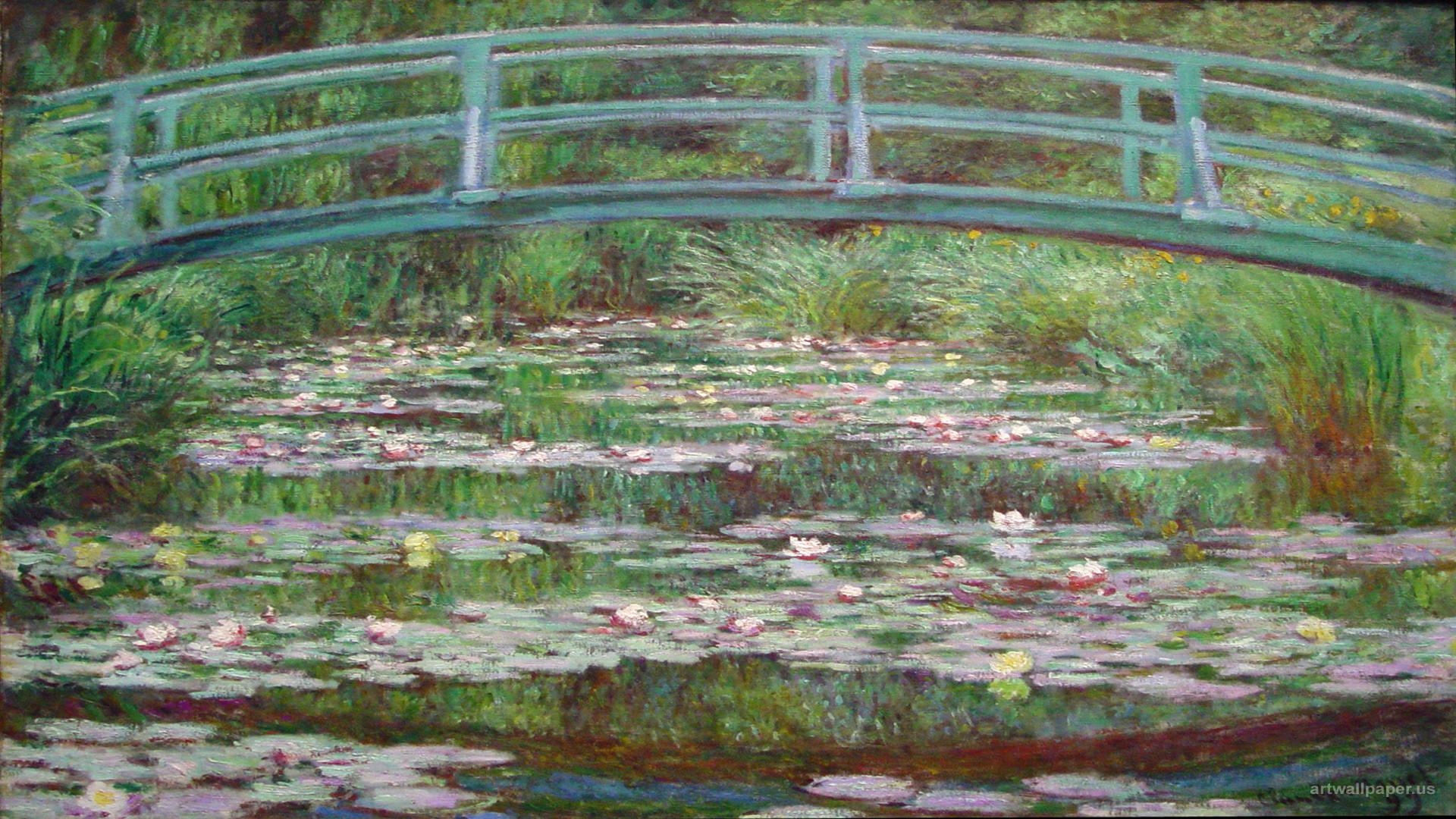 Res: 1920x1080, Claude Monet