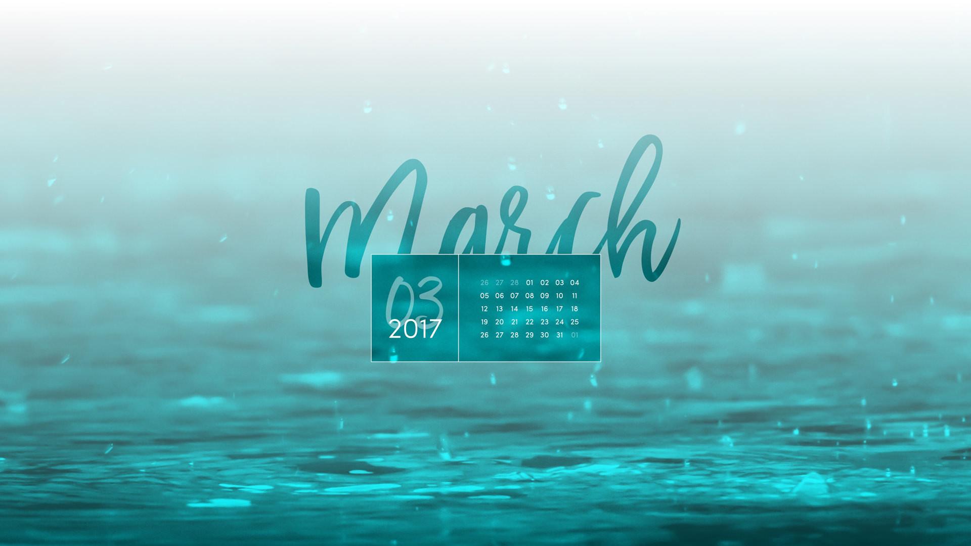 Res: 1920x1080, ... March 2017 Desktop Calendar Wallpaper: 2880X1800px · 2560X1600px ·  2560x1440px · 1920x1200px ...