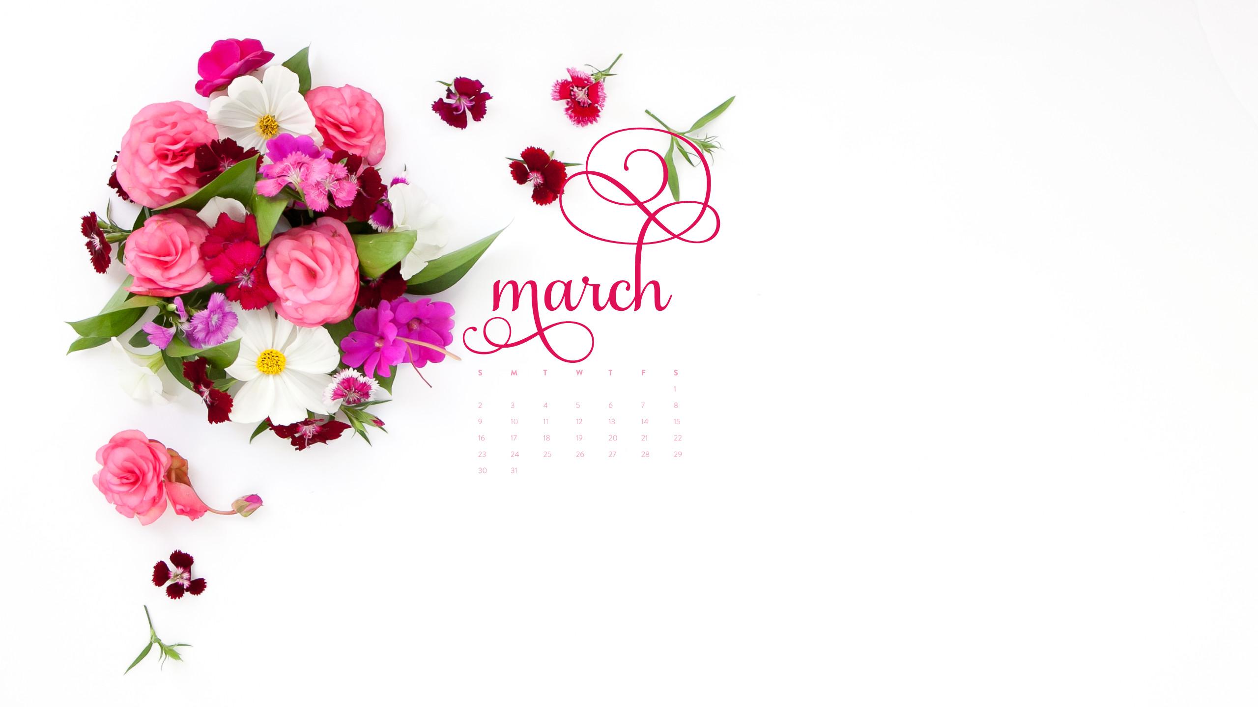 Res: 2560x1440, Desktop Calendar: March 2014 | AshleeProffitt