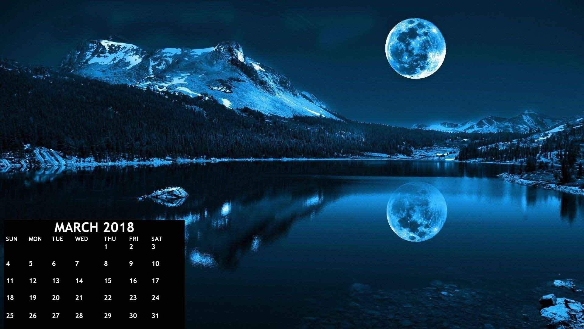Res: 1920x1080, March 2018 Calendar HD Wallpapers | CalendarBuzz